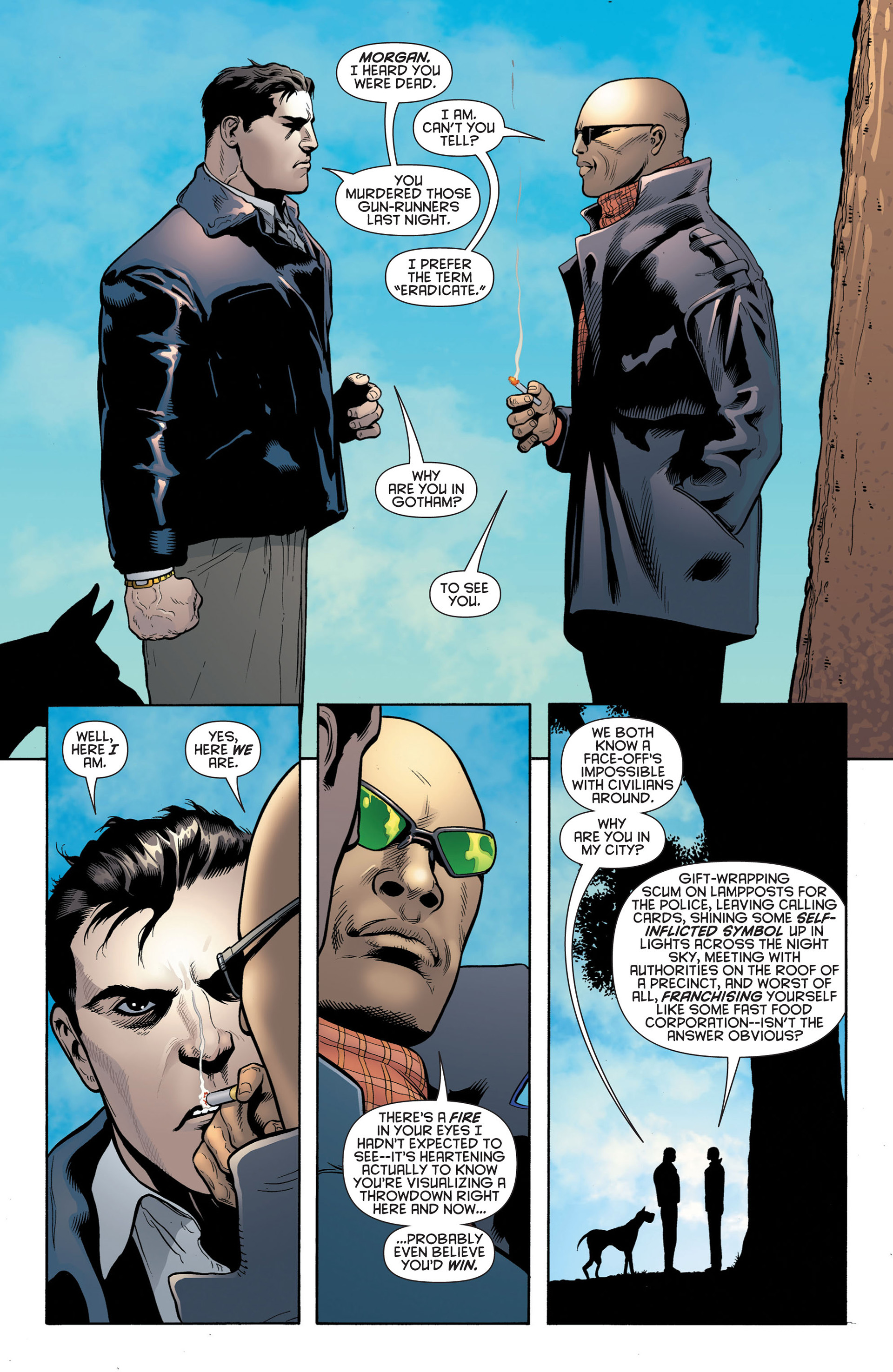 Read online Batman and Robin (2011) comic -  Issue #2 - 17