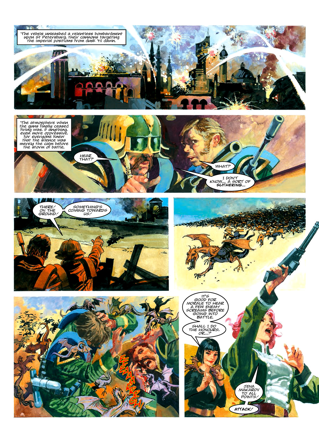 Read online Nikolai Dante comic -  Issue # TPB 10 - 55