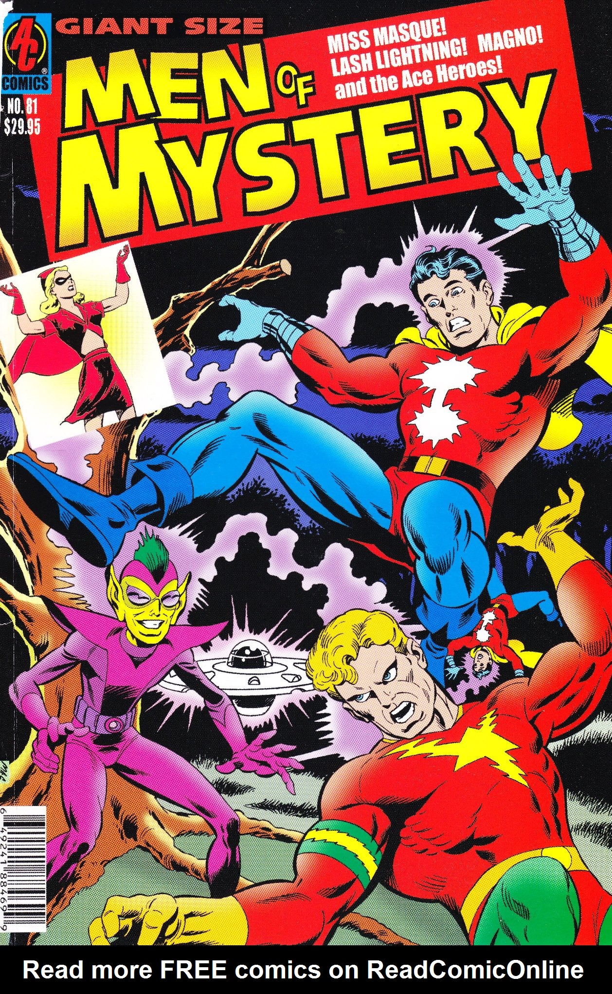 Read online Men of Mystery Comics comic -  Issue #81 - 1