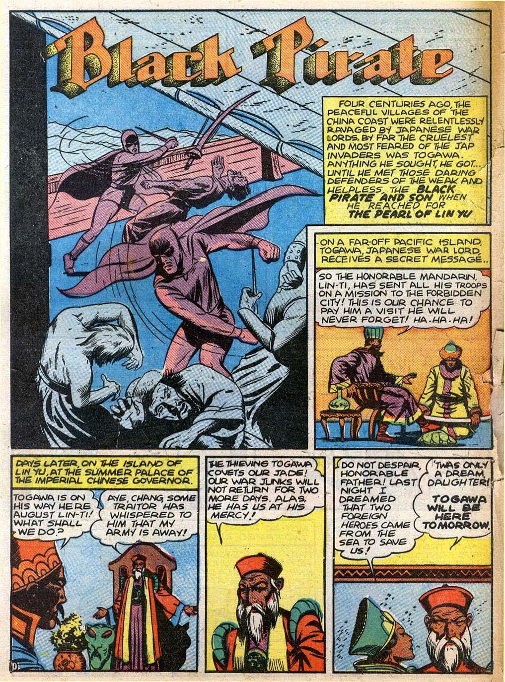 Read online Sensation (Mystery) Comics comic -  Issue #27 - 17