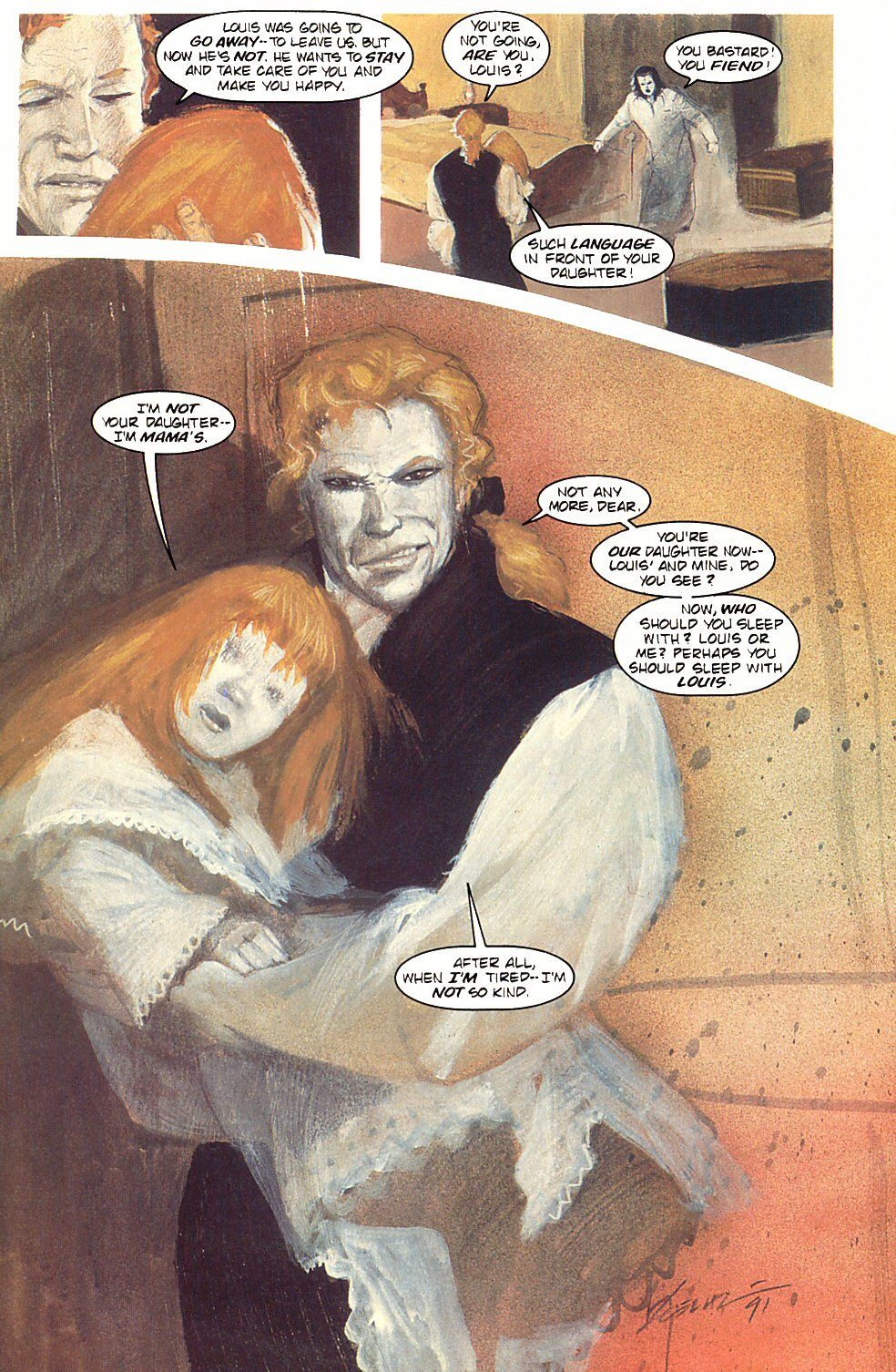 Read online Anne Rice's Interview with the Vampire comic -  Issue #3 - 35