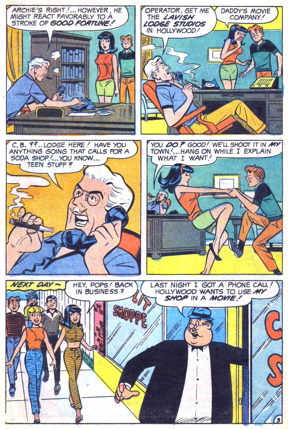 Read online Archie (1960) comic -  Issue #185 - 15