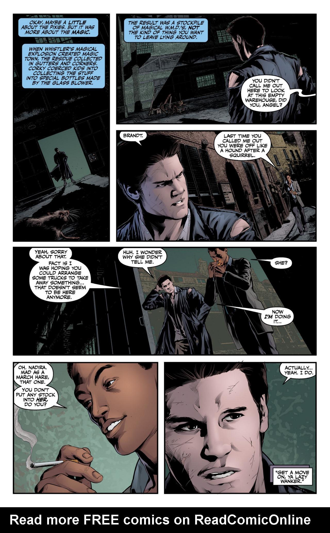 Read online Angel & Faith Season 10 comic -  Issue #4 - 21