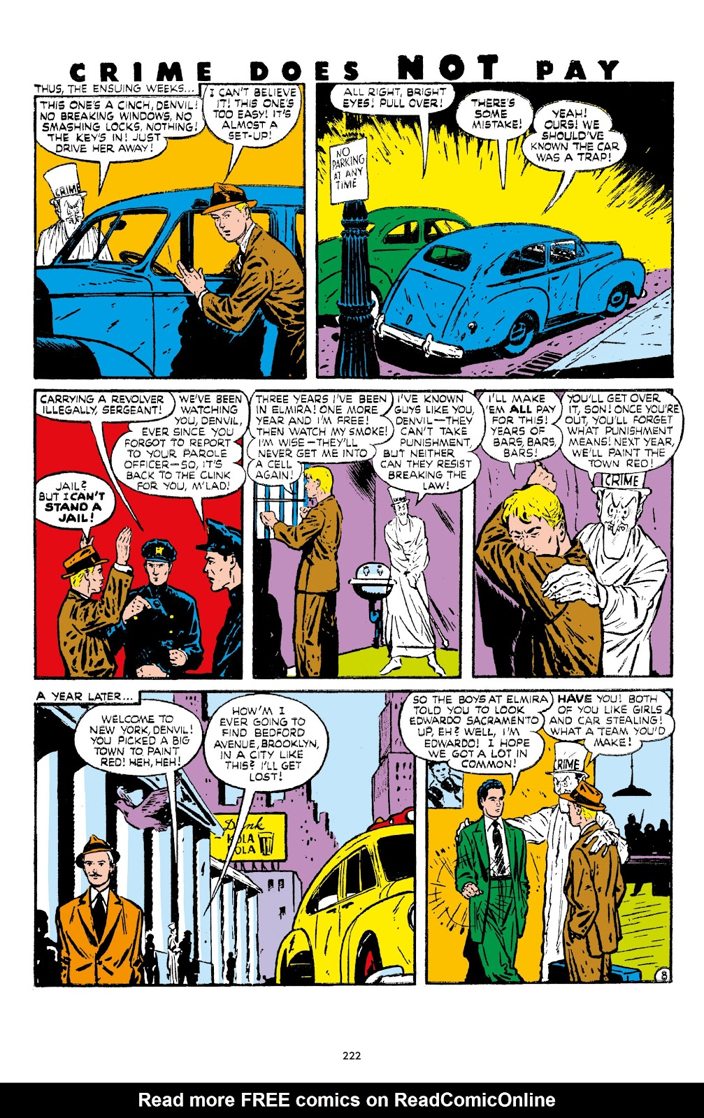 Read online Crime Does Not Pay Archives comic -  Issue # TPB 7 (Part 3) - 23