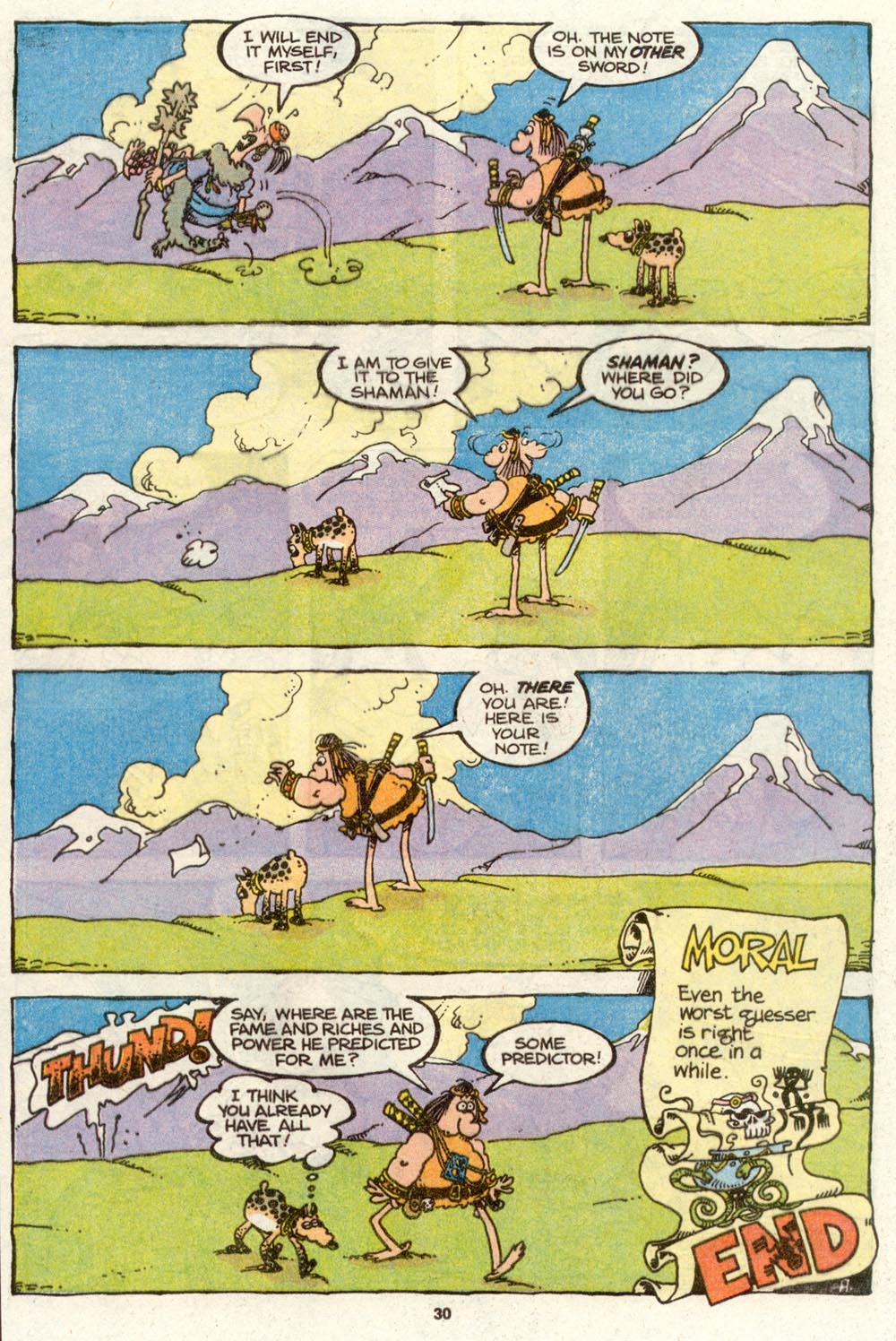 Read online Sergio Aragonés Groo the Wanderer comic -  Issue #72 - 23