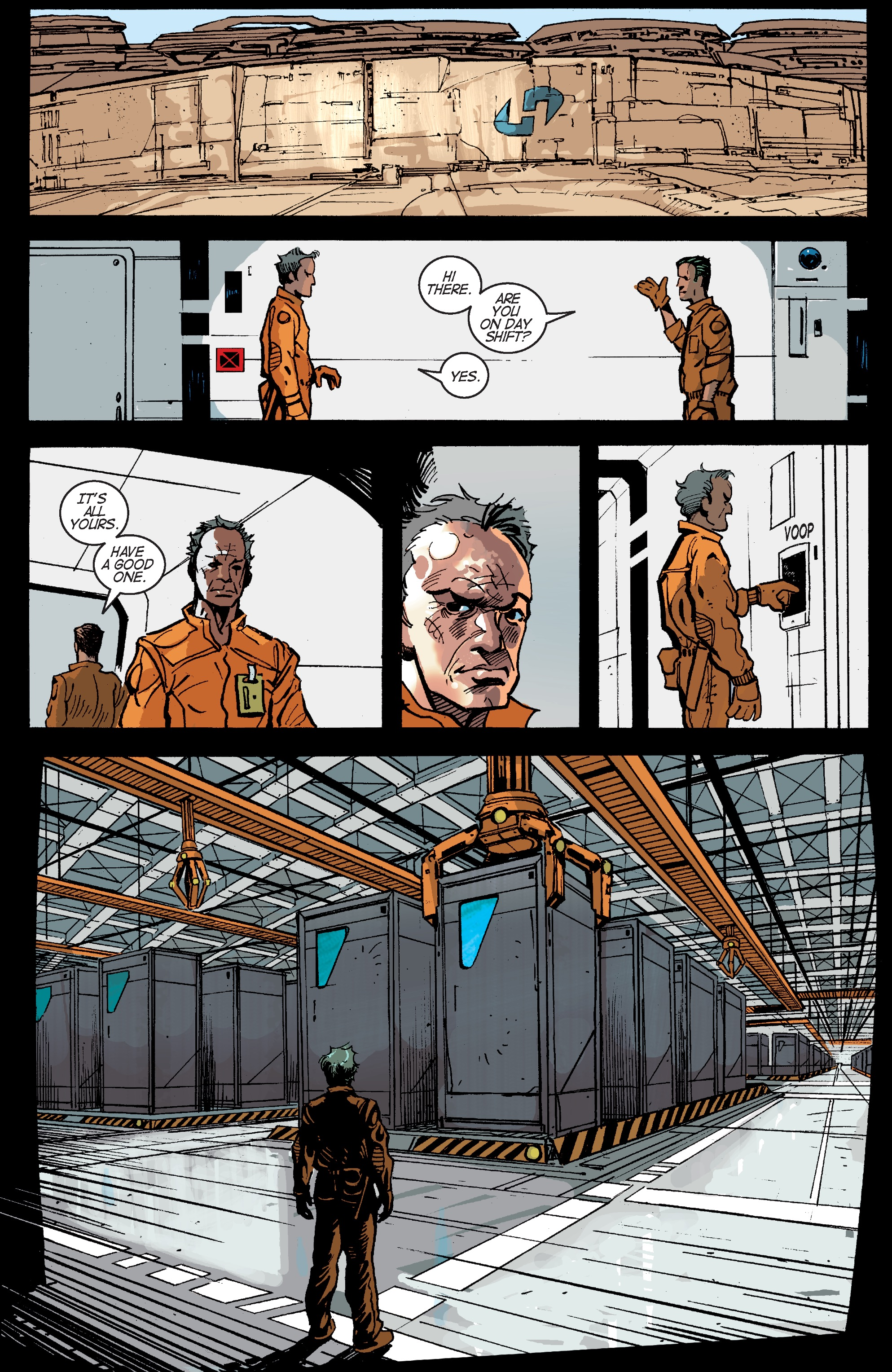 Read online Planetoid Praxis comic -  Issue #5 - 10