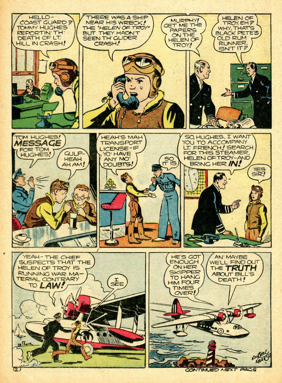Read online Famous Funnies comic -  Issue #94 - 48