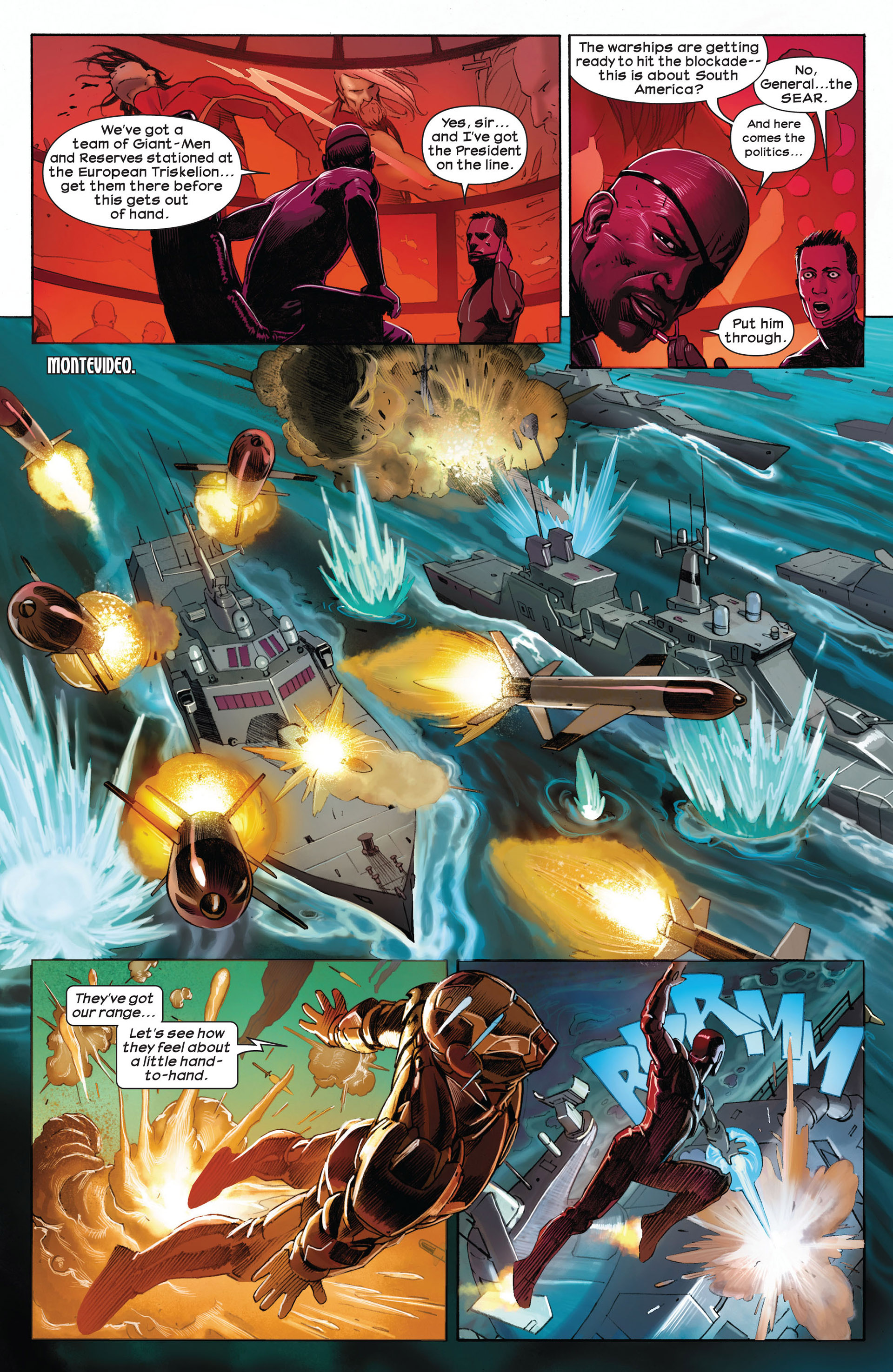 Read online Ultimate Comics Ultimates comic -  Issue #1 - 13