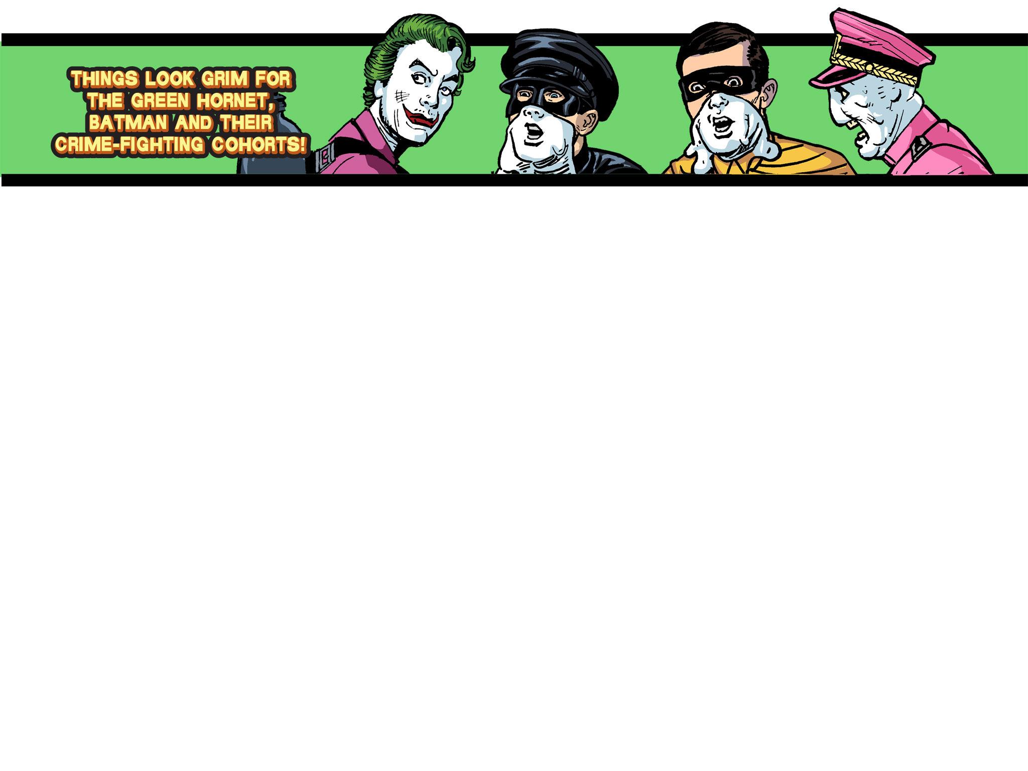 Read online Batman '66 Meets the Green Hornet [II] comic -  Issue #5 - 1
