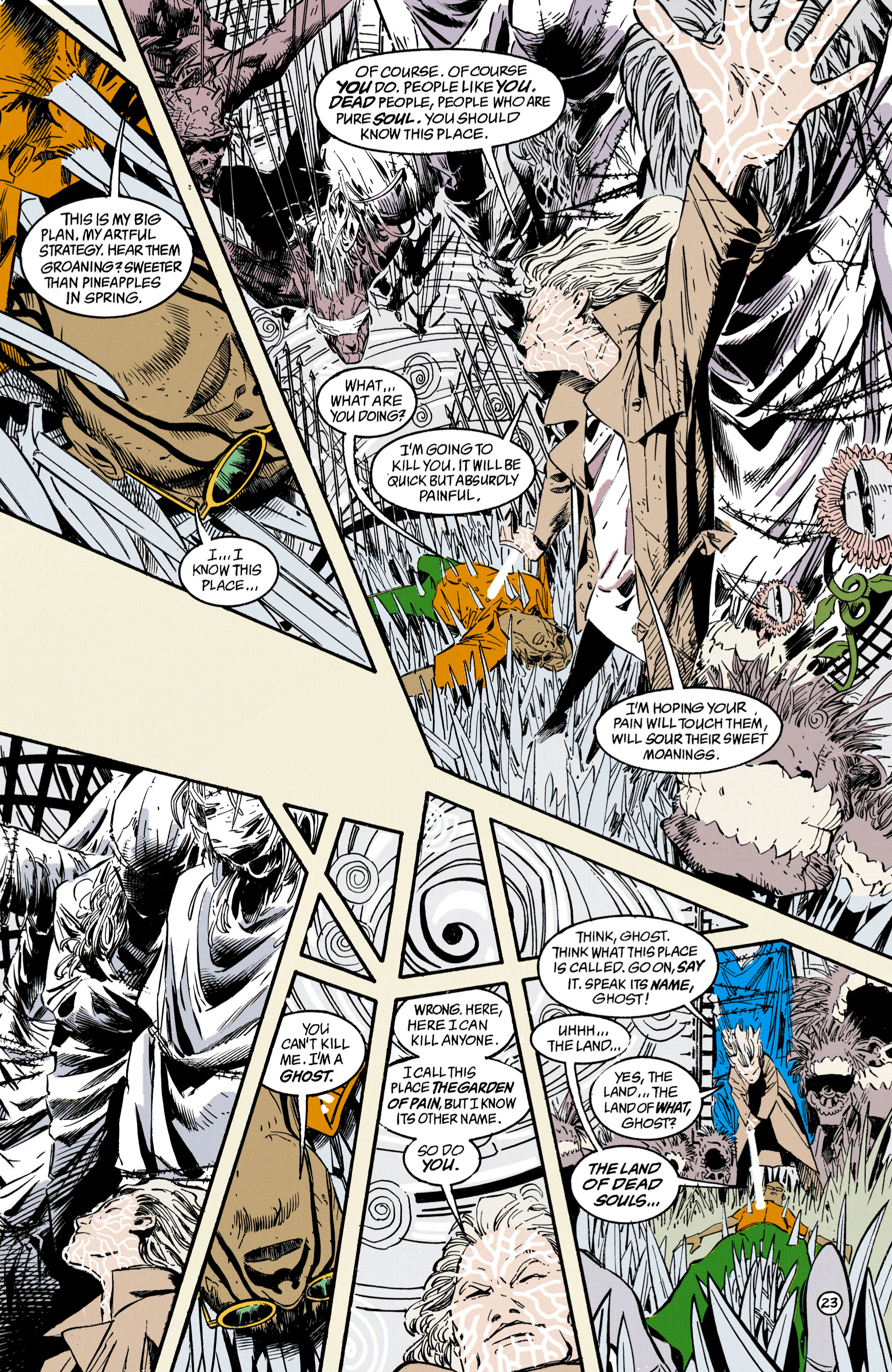 Read online Shade, the Changing Man comic -  Issue #34 - 23