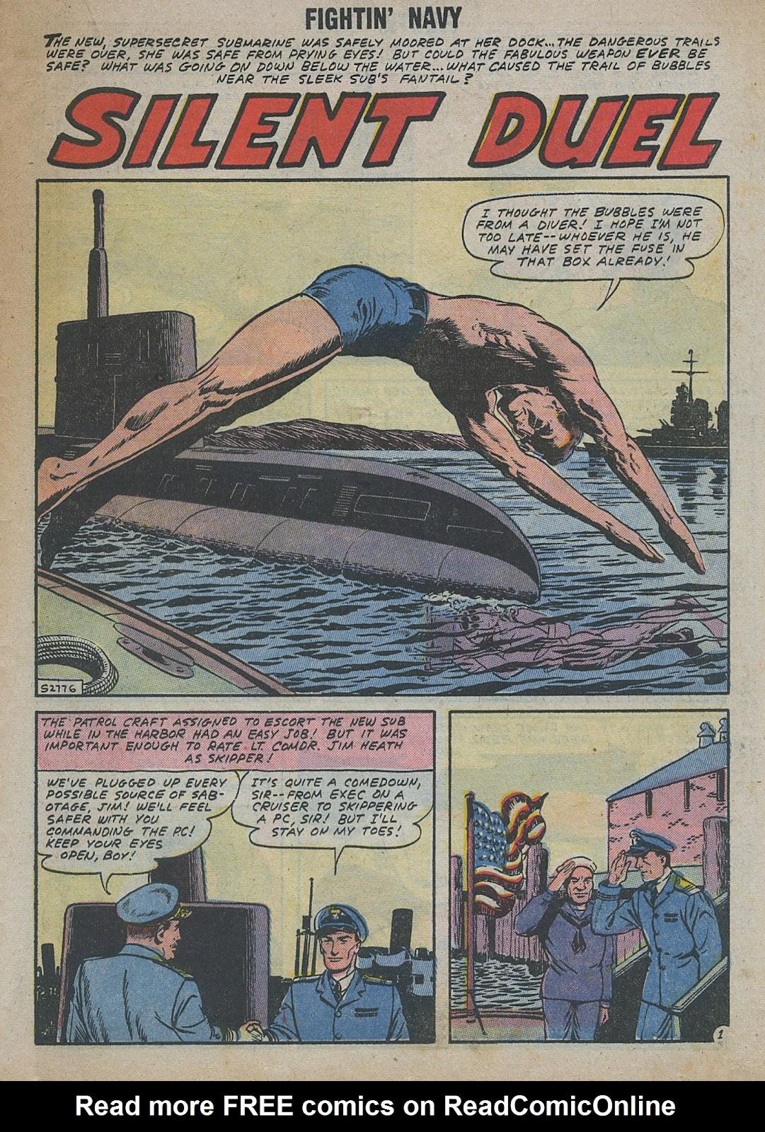 Read online Fightin' Navy comic -  Issue #82 - 43