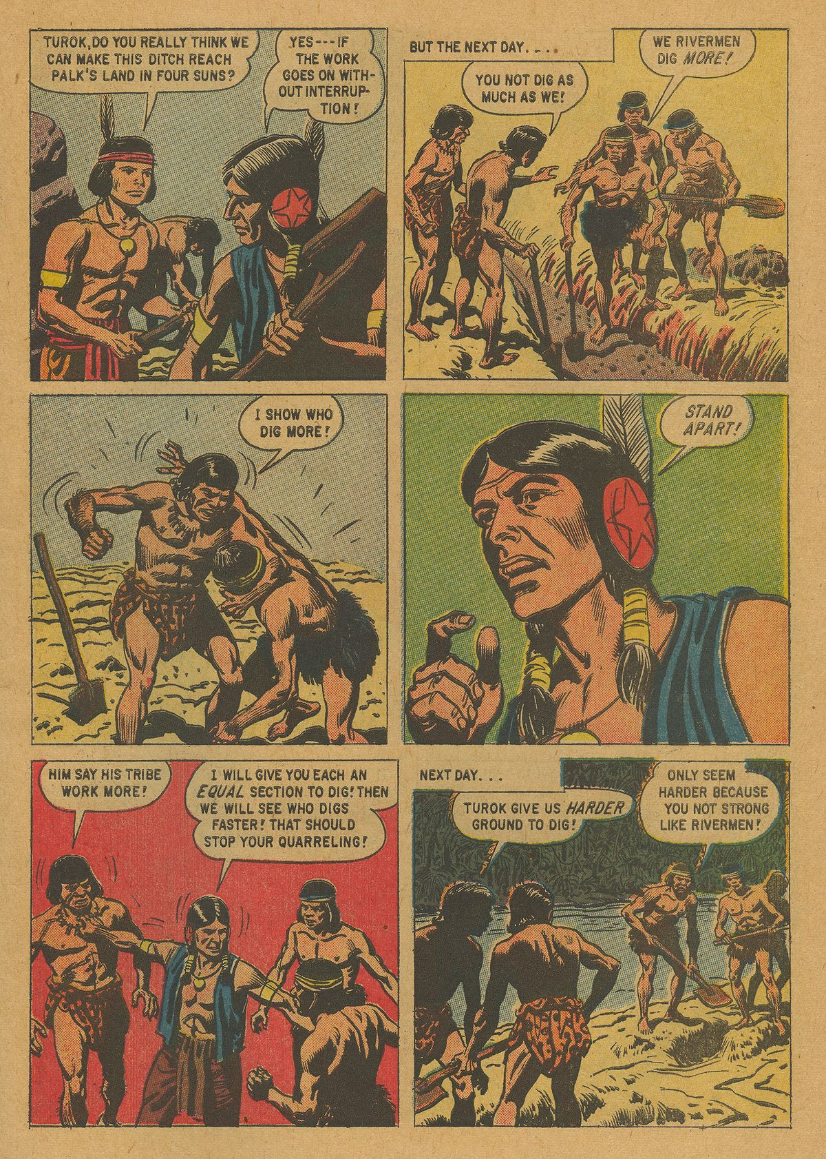 Read online Turok, Son of Stone comic -  Issue #21 - 7