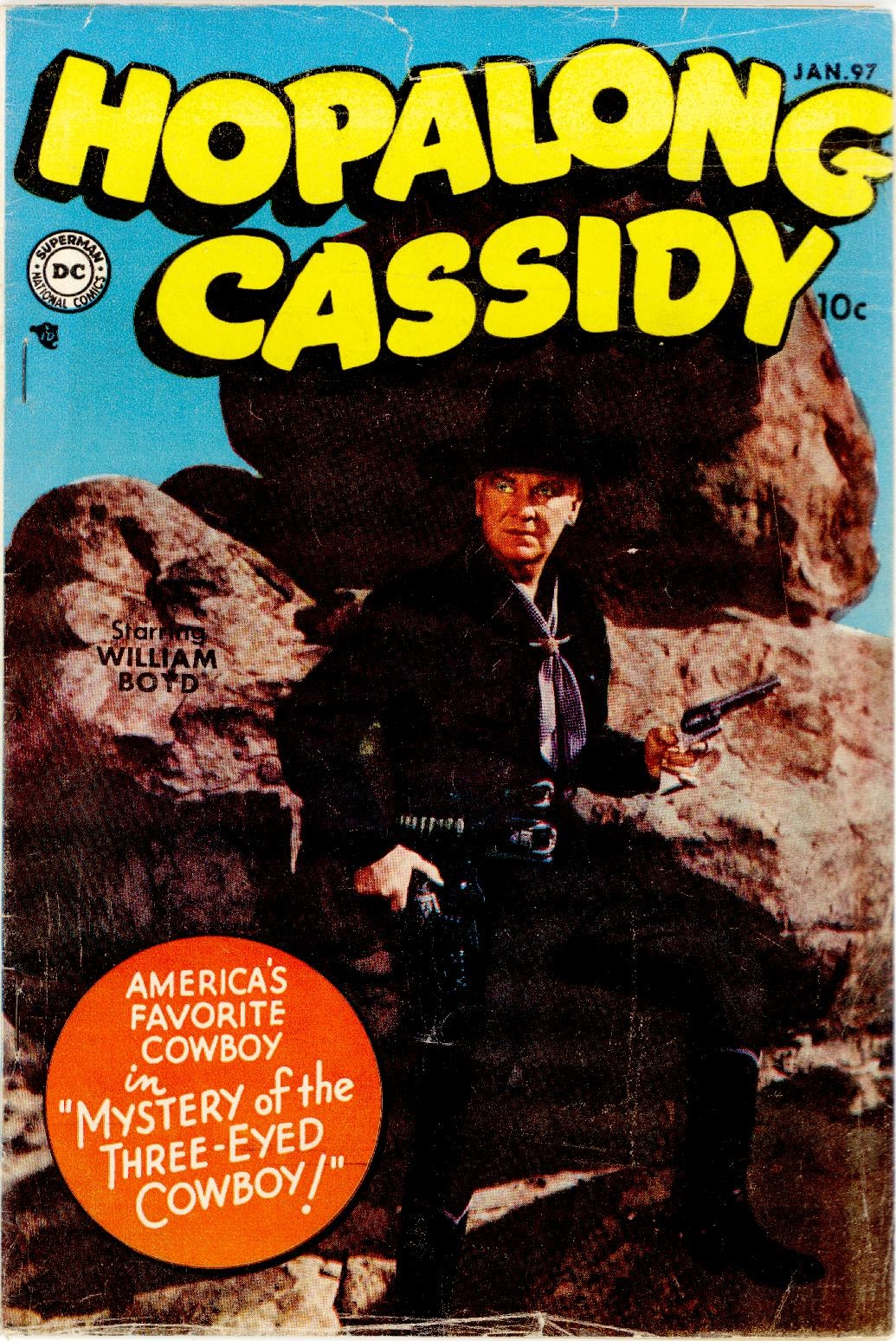 Hopalong Cassidy issue 97 - Page 1