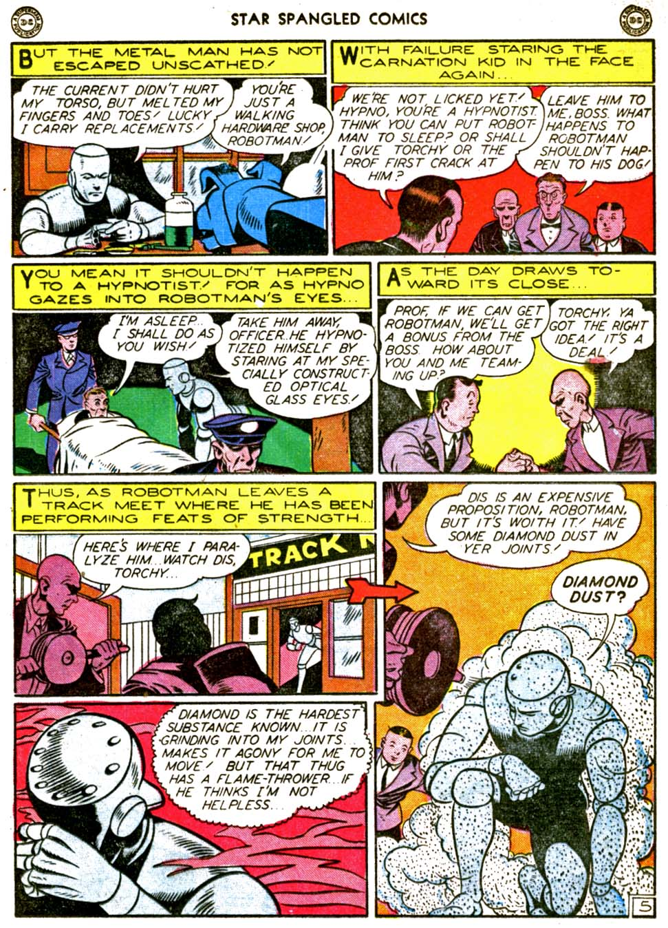 Star Spangled Comics (1941) issue 56 - Page 19