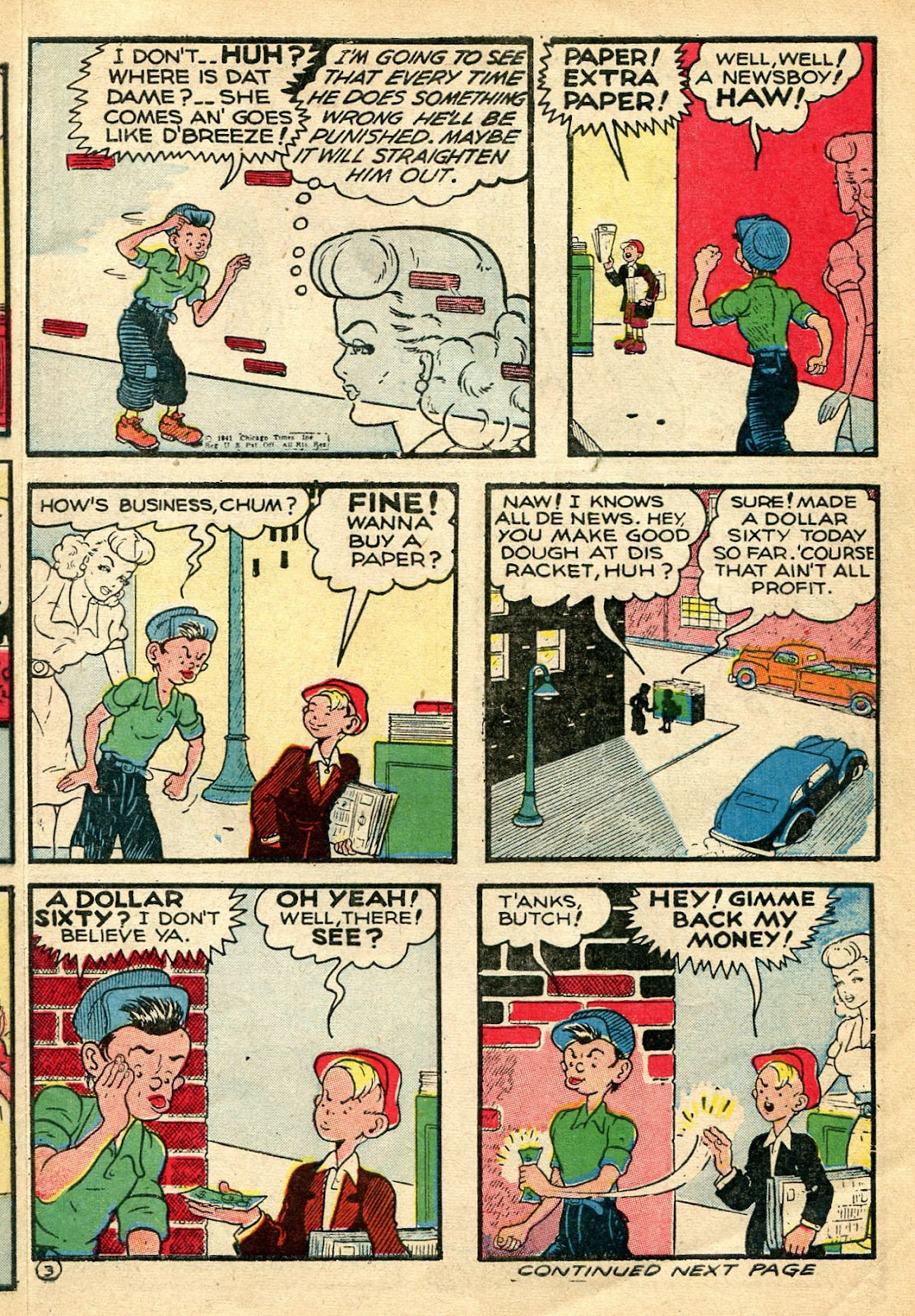 Read online Famous Funnies comic -  Issue #110 - 13