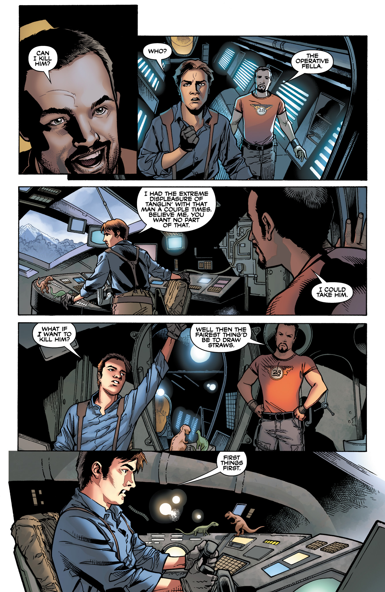 Read online Serenity: Firefly Class 03-K64  Leaves on the Wind comic -  Issue #4 - 5