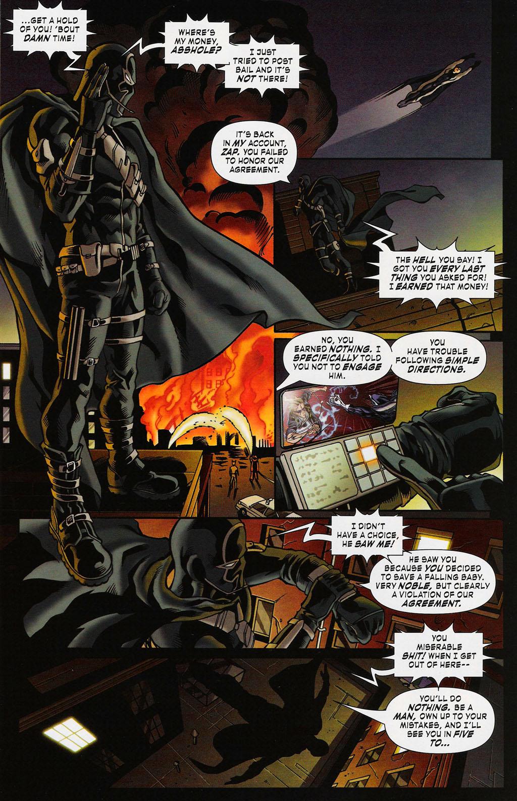 Read online ShadowHawk (2005) comic -  Issue #3 - 12