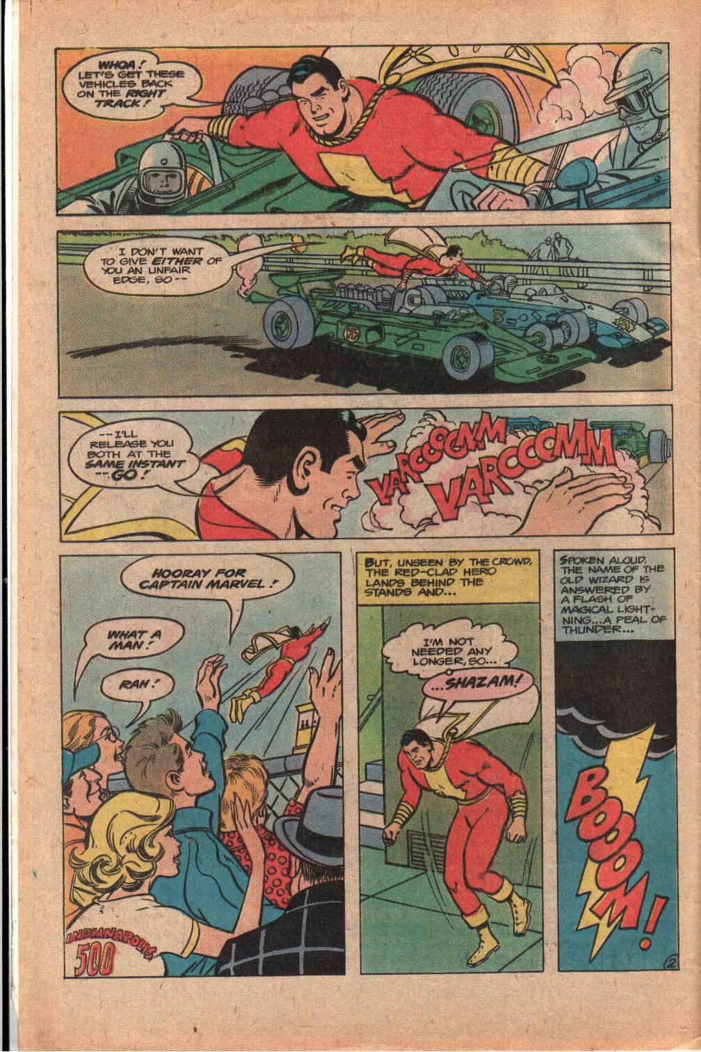 Read online Shazam! (1973) comic -  Issue #33 - 4