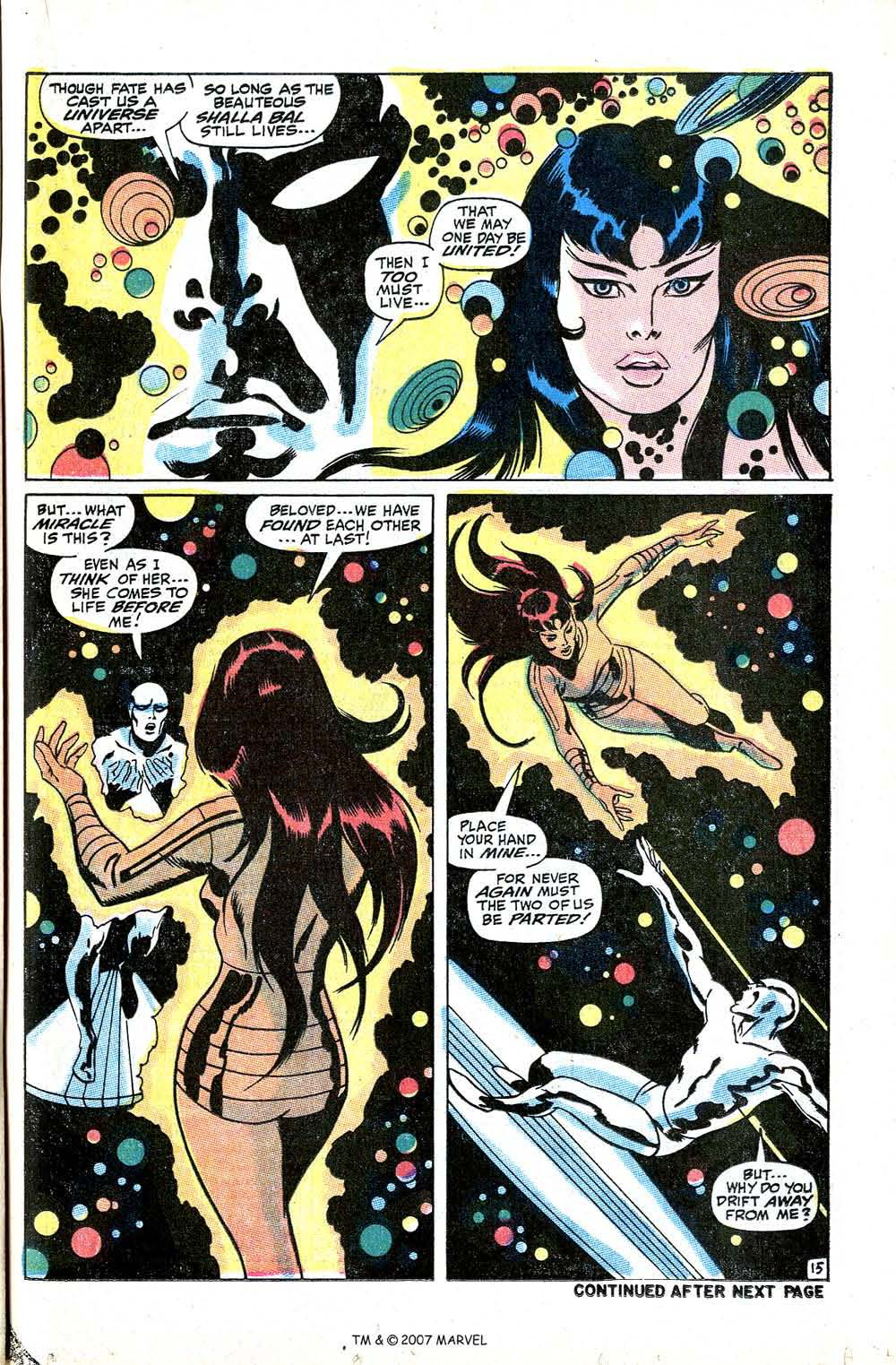 Read online Silver Surfer (1968) comic -  Issue #8 - 21