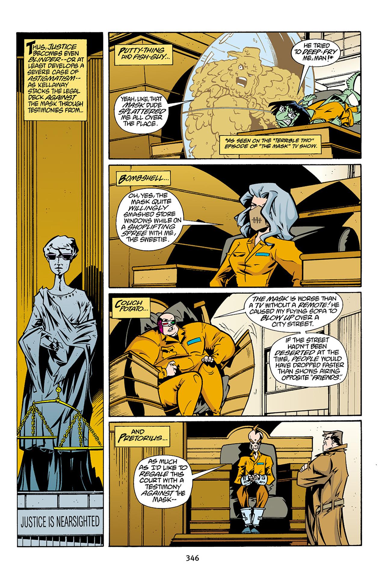 Read online Adventures Of The Mask Omnibus comic -  Issue #Adventures Of The Mask Omnibus Full - 345