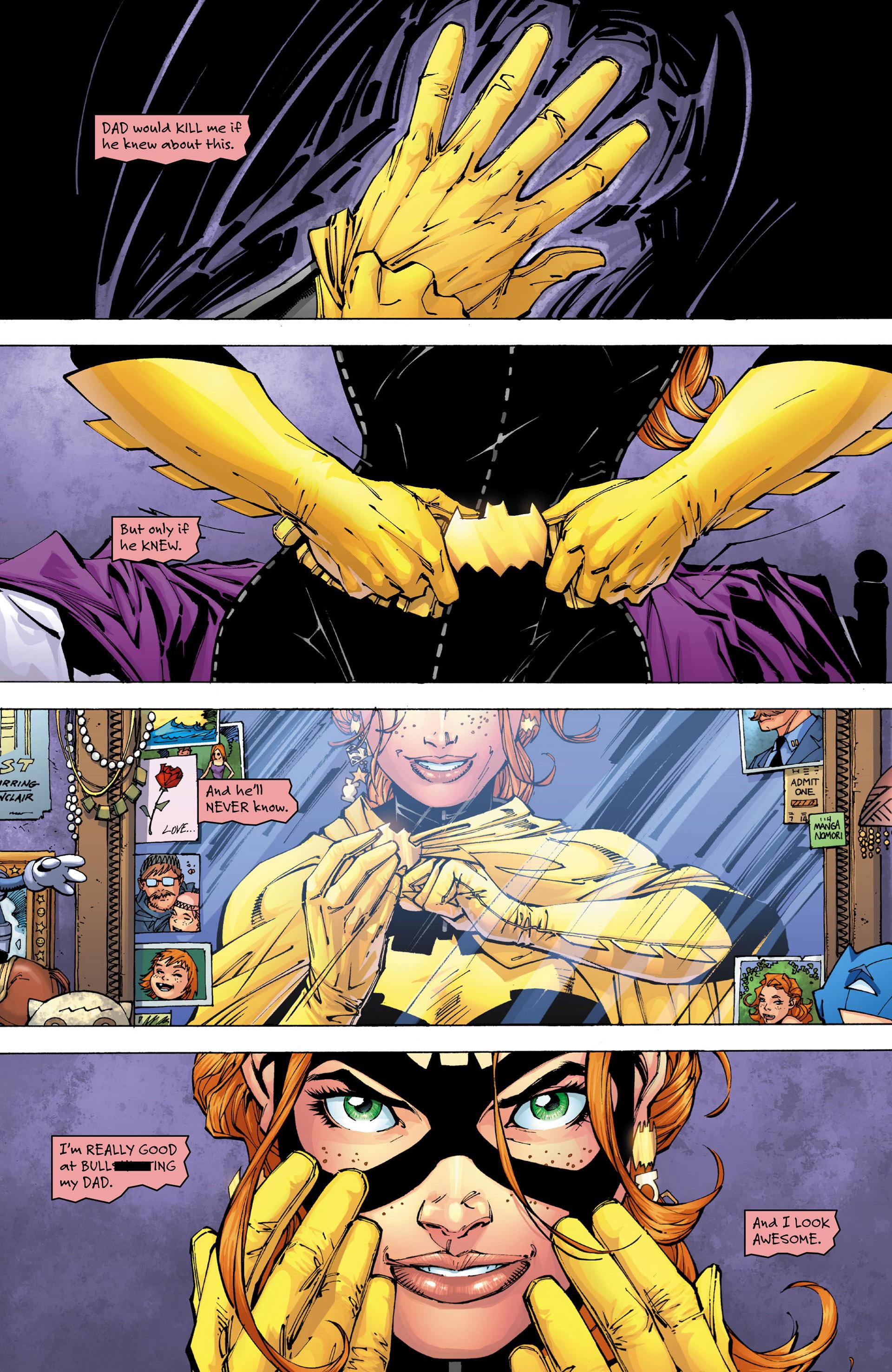 Read online All Star Batman & Robin, The Boy Wonder comic -  Issue #6 - 9