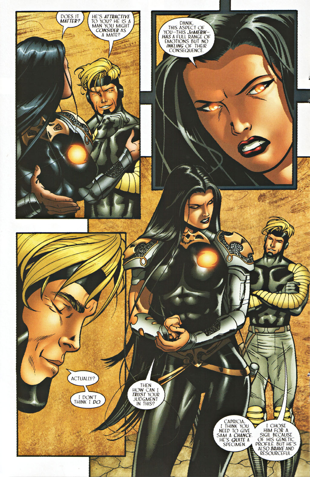 Read online Sigil (2000) comic -  Issue #40 - 16