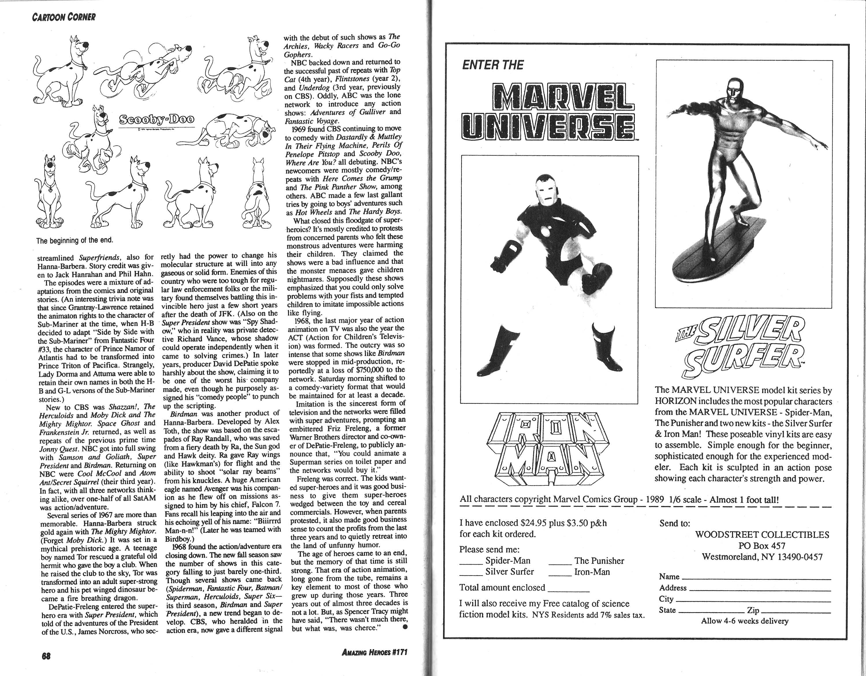 Read online Amazing Heroes comic -  Issue #171 - 35