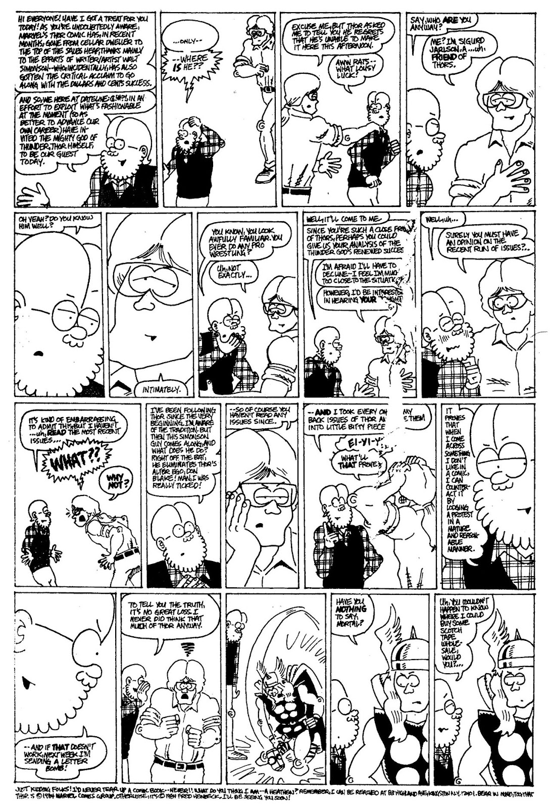 Read online The Nearly Complete Essential Hembeck Archives Omnibus comic -  Issue # TPB (Part 4) - 77