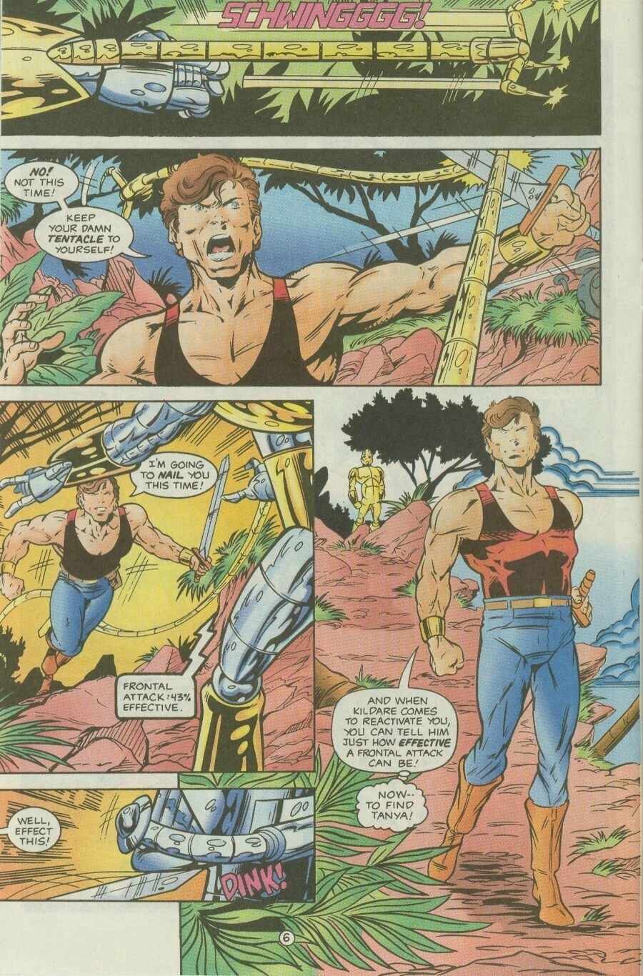 Read online Ex-Mutants comic -  Issue #9 - 8