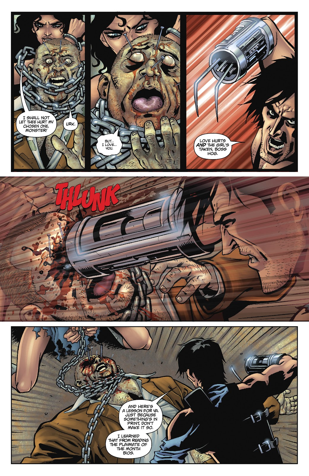 Army of Darkness: The Long Road Home issue TPB - Page 92