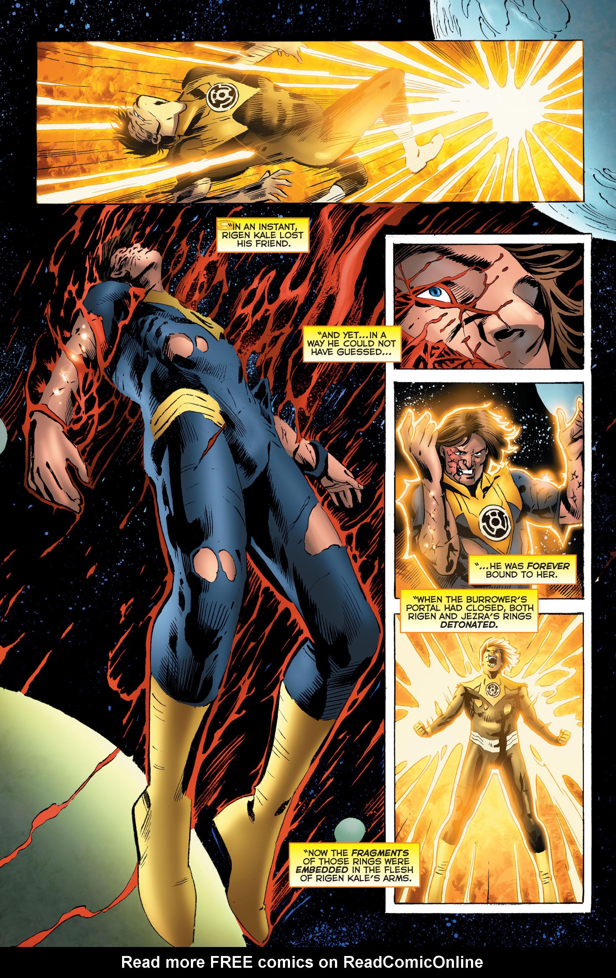 Read online Sinestro comic -  Issue # Annual 1 - 29