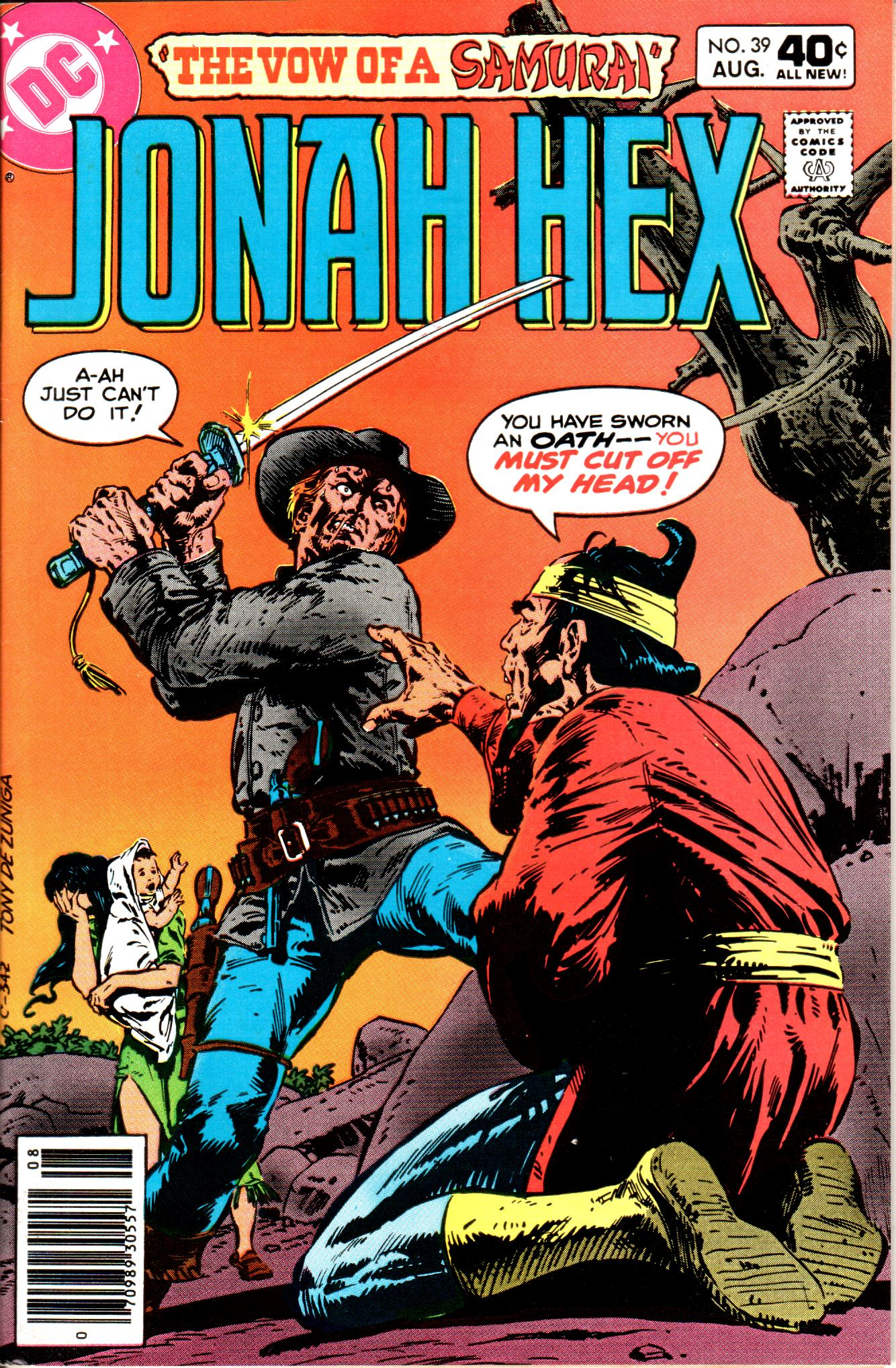 Jonah Hex (1977) 39 Page 1