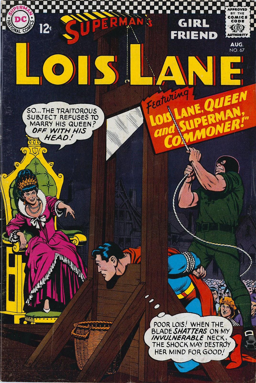 Supermans Girl Friend, Lois Lane 67 Page 1