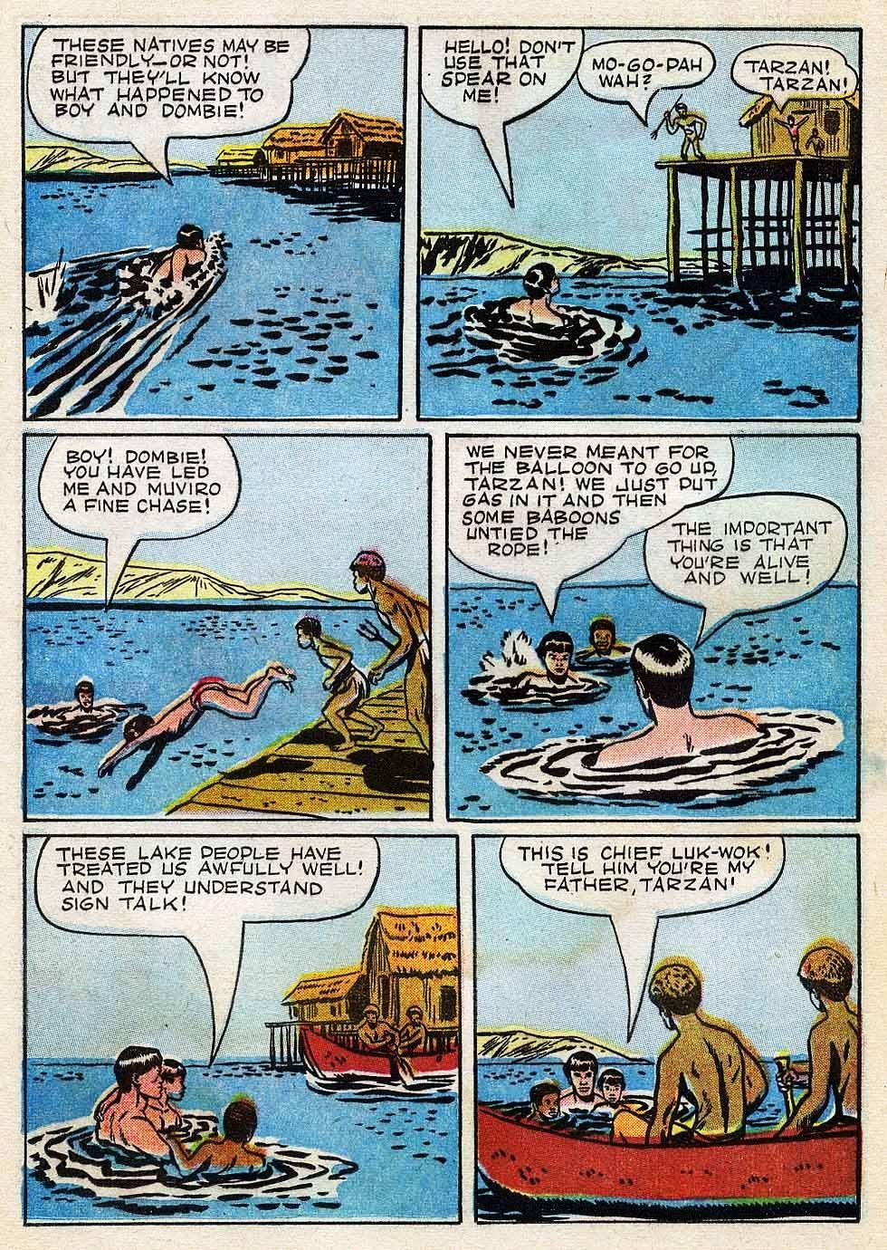 Tarzan (1948) issue 7 - Page 25