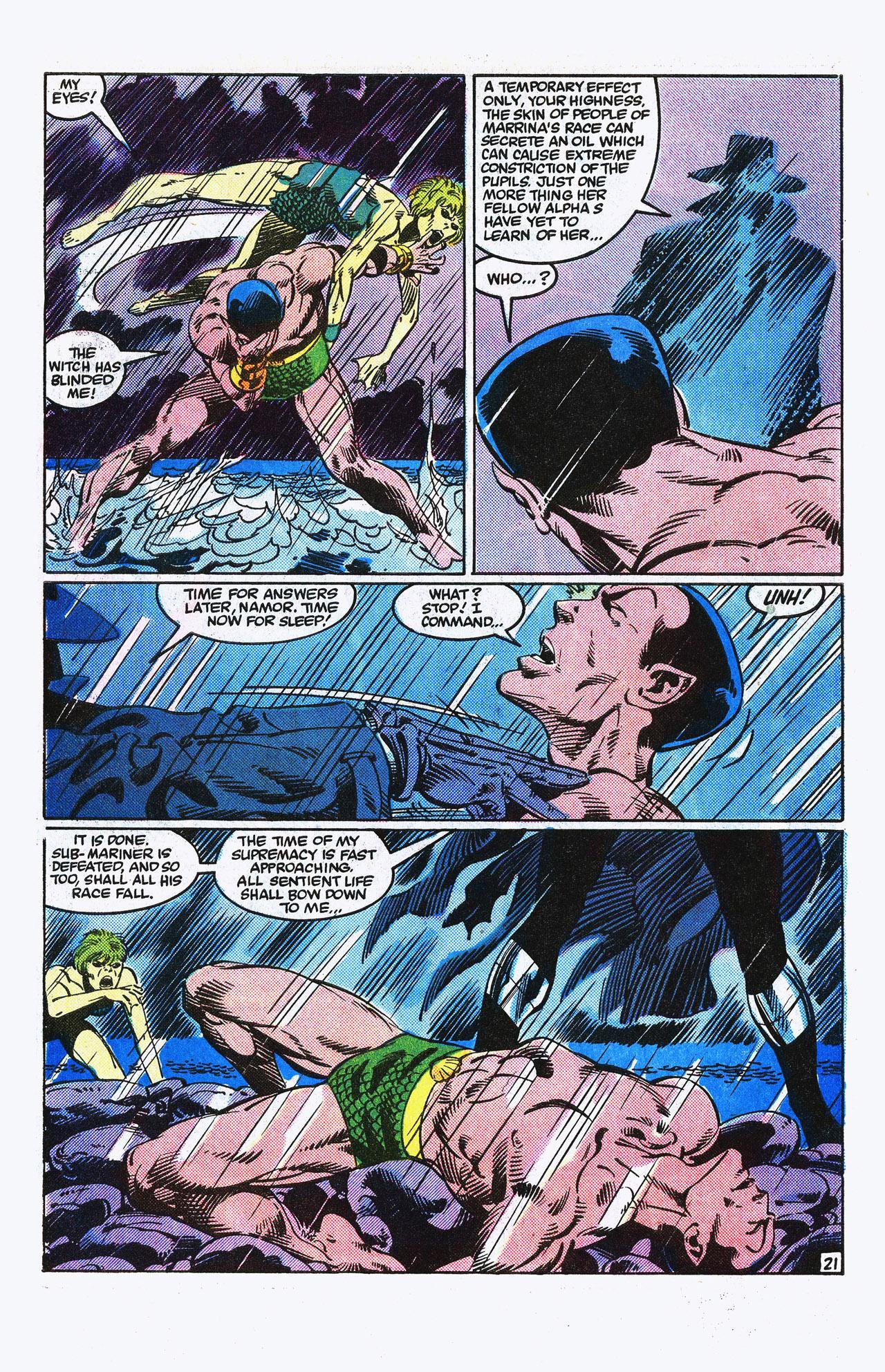 Read online Alpha Flight (1983) comic -  Issue #15 - 22