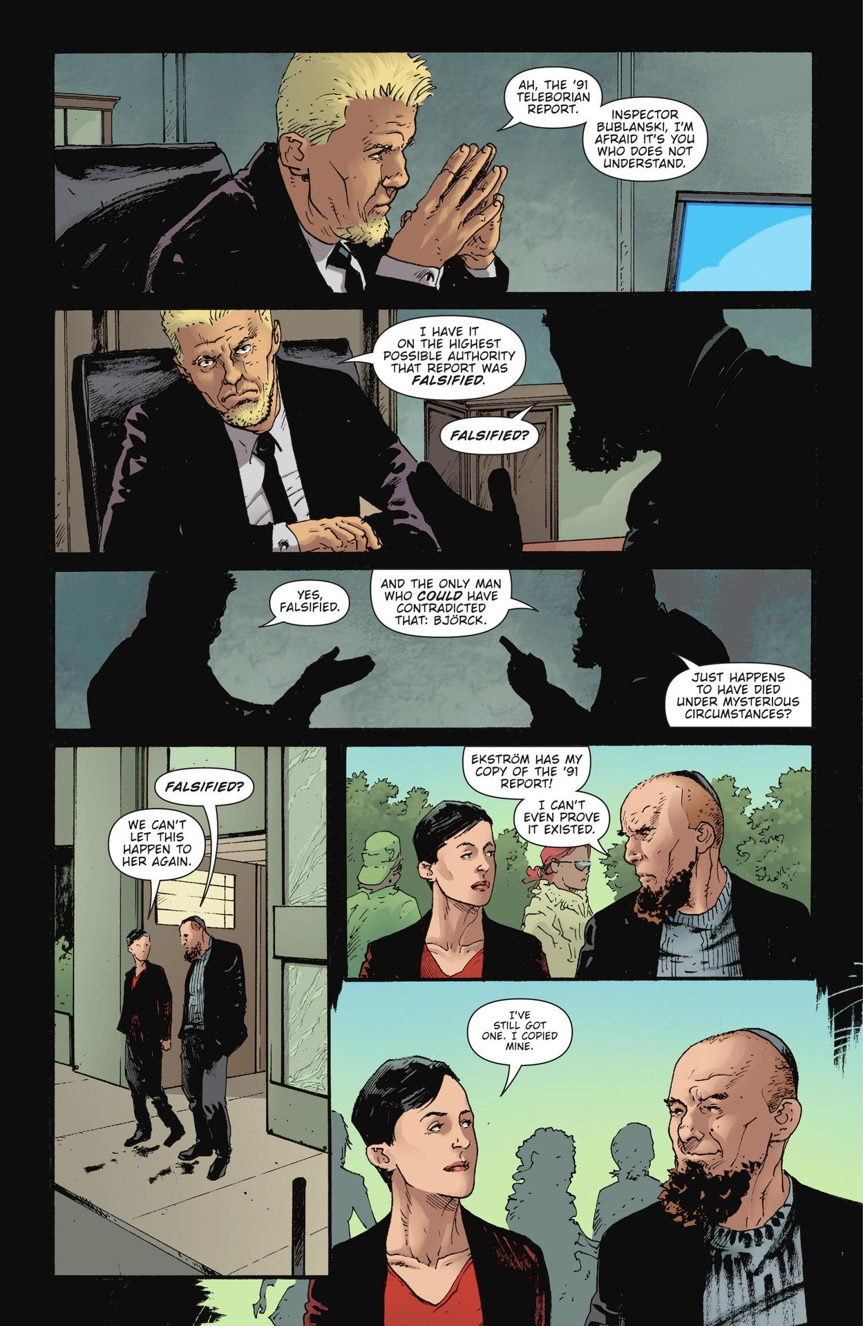 Read online The Girl Who Kicked The Hornet's Nest comic -  Issue # TPB - 146