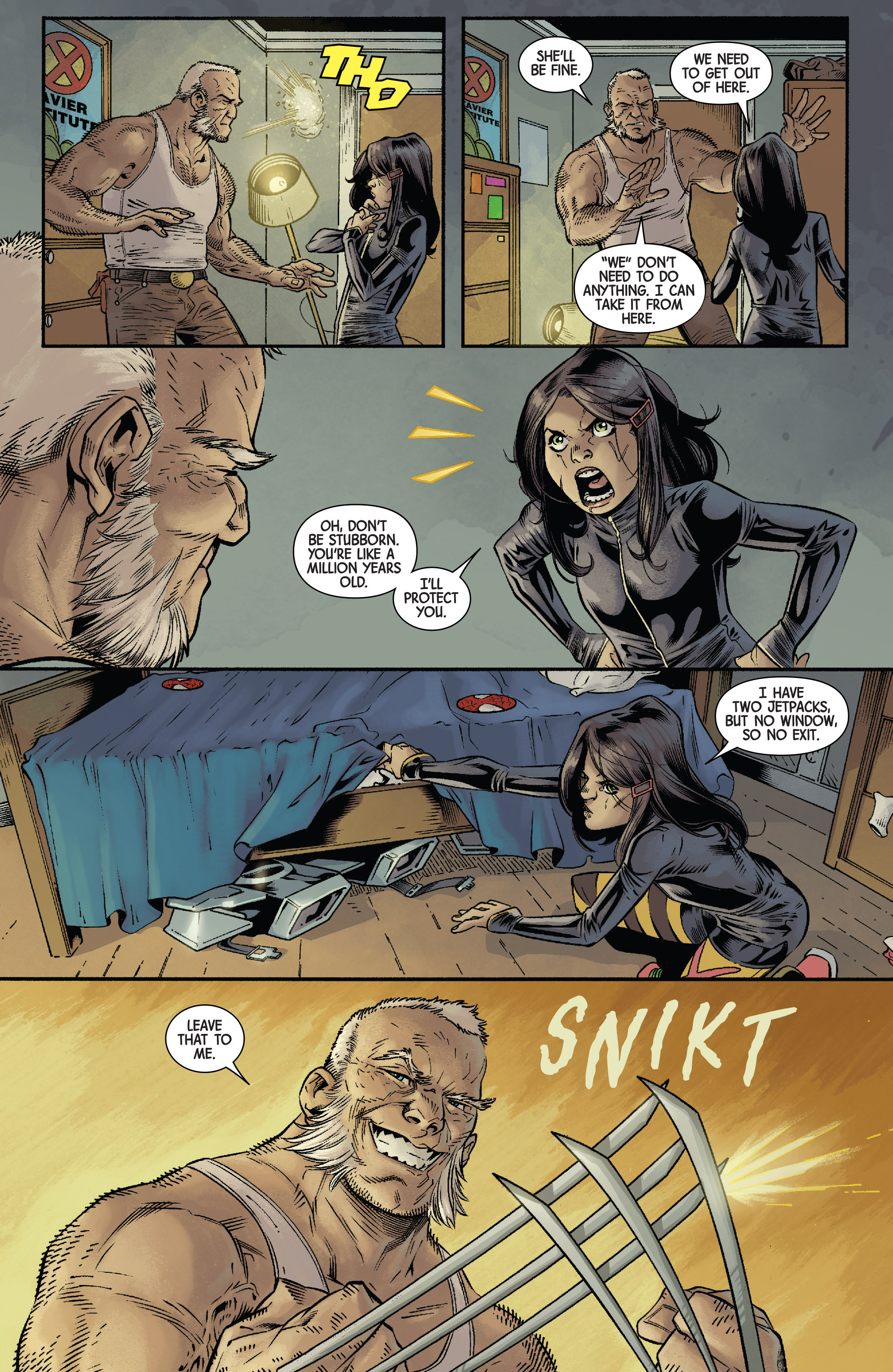 Read online All-New Wolverine (2016) comic -  Issue #11 - 10
