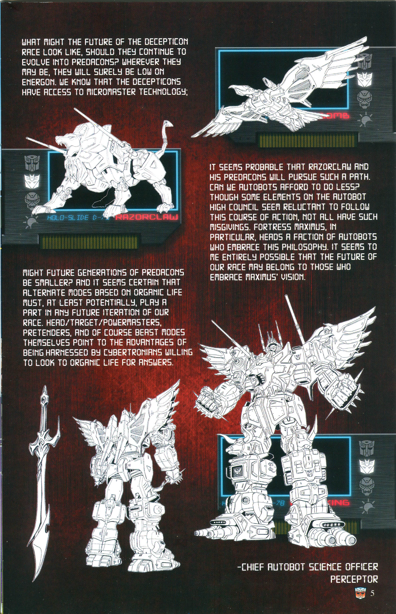Read online Transformers: Collectors' Club comic -  Issue #54 - 5