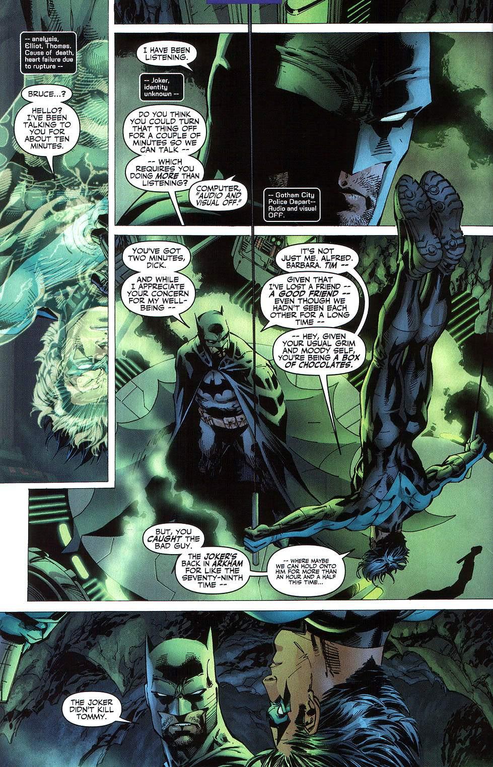 Read online Batman: Hush comic -  Issue #8 - 7