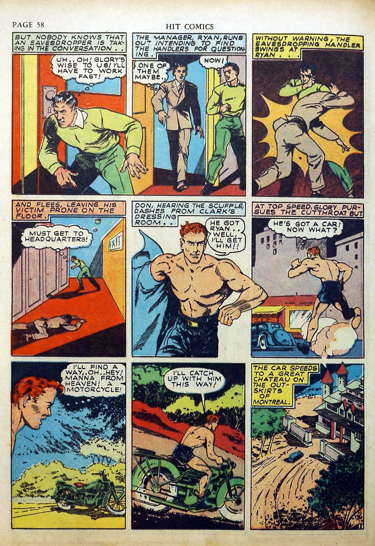 Read online Hit Comics comic -  Issue #17 - 60
