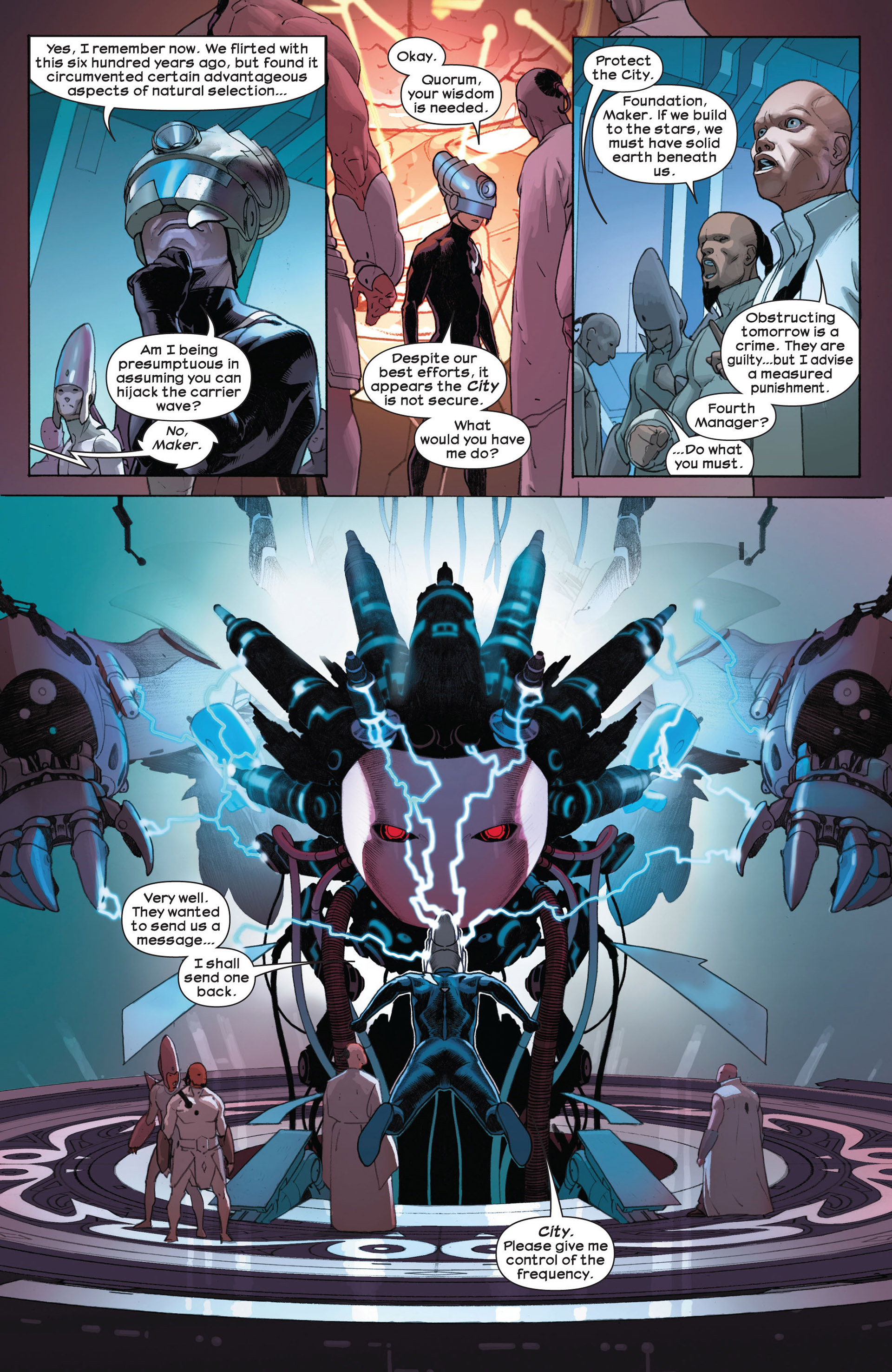 Read online Ultimate Comics Ultimates comic -  Issue #7 - 13