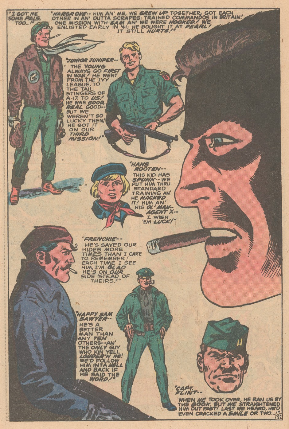 Read online Sgt. Fury comic -  Issue #161 - 32