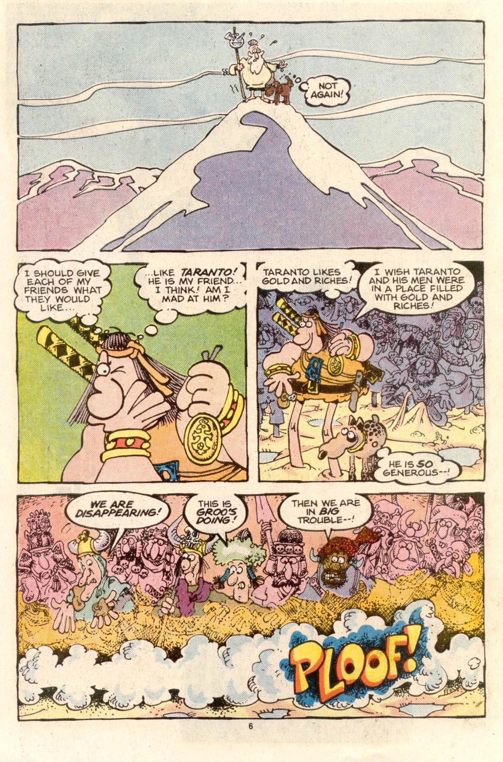 Read online Sergio Aragonés Groo the Wanderer comic -  Issue #36 - 6