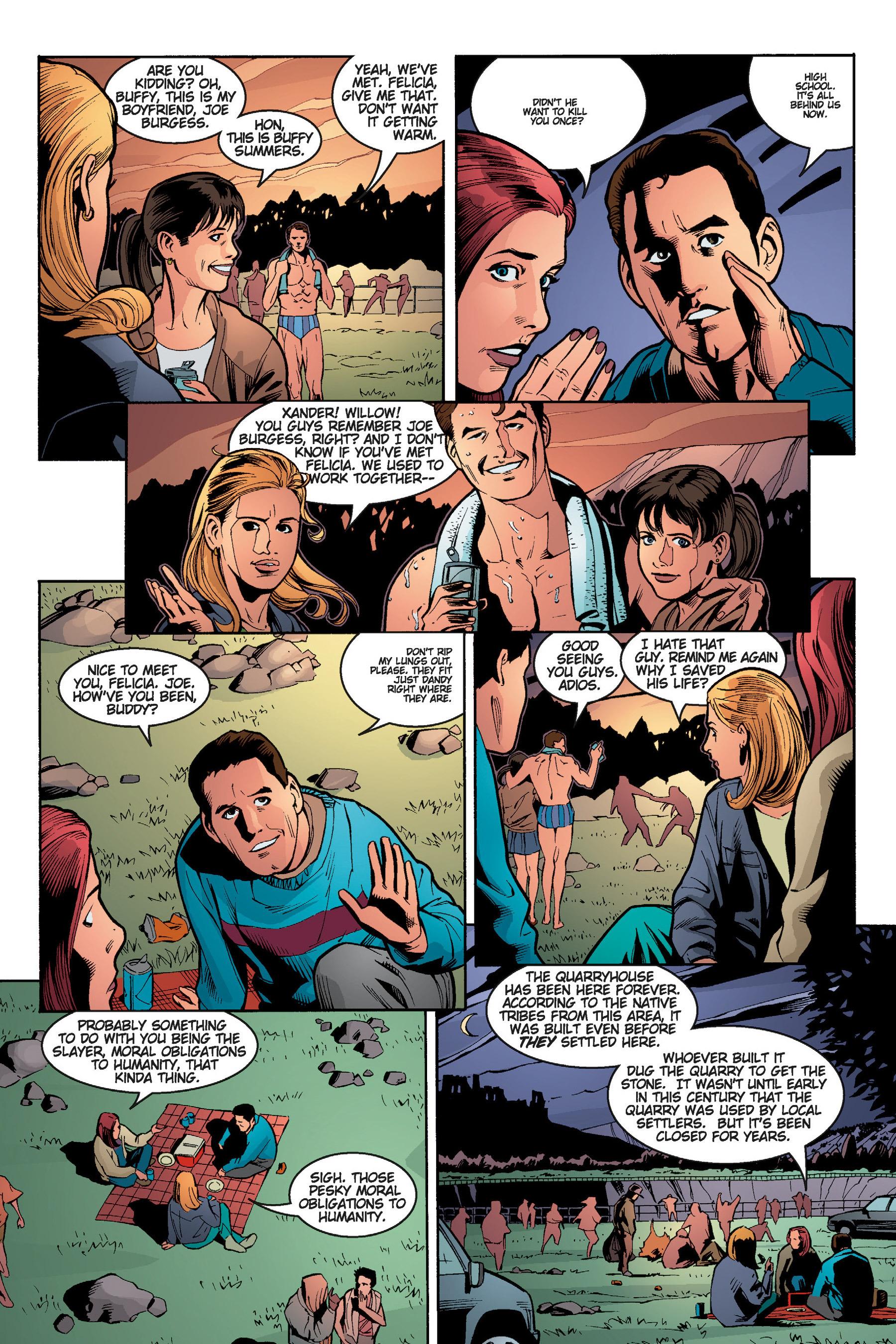 Read online Buffy the Vampire Slayer: Omnibus comic -  Issue # TPB 5 - 122