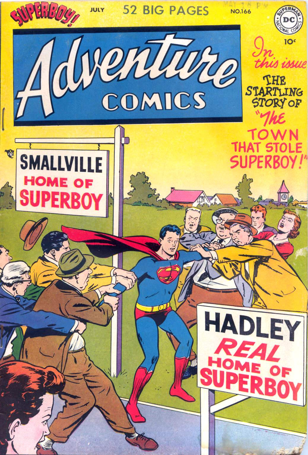 Read online Adventure Comics (1938) comic -  Issue #166 - 1