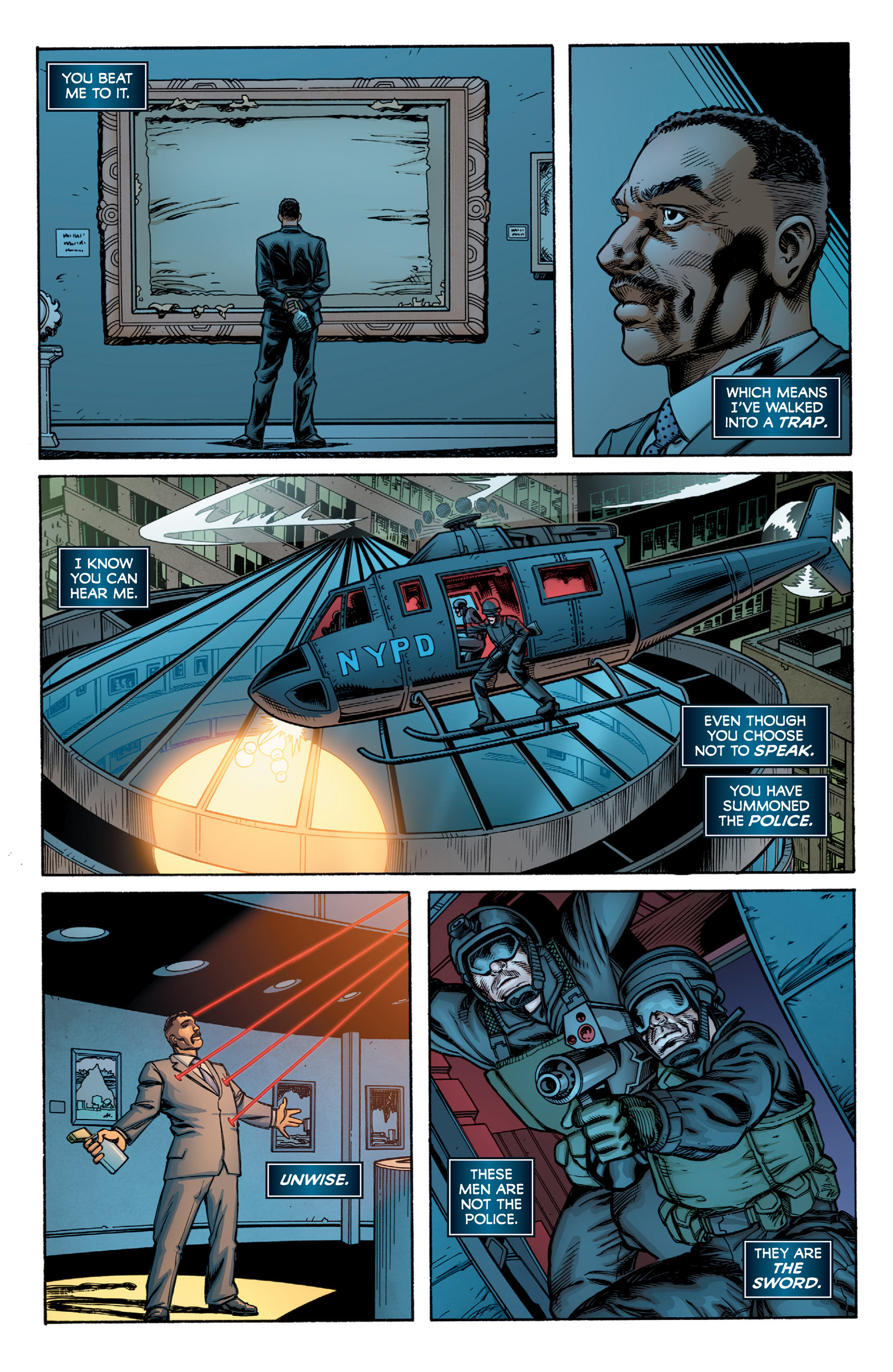 Read online Armor Hunters: Bloodshot comic -  Issue #2 - 28
