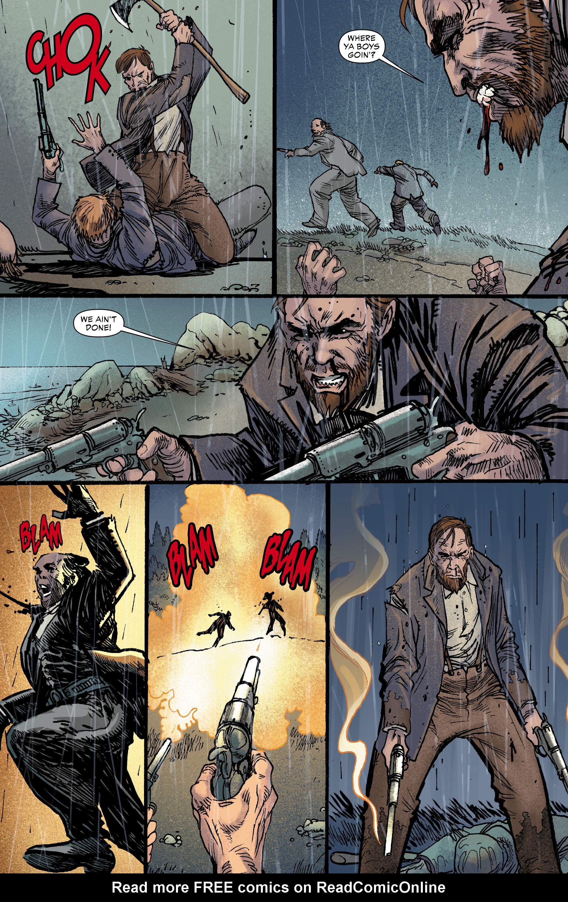 Read online All-Star Western (2011) comic -  Issue #0 - 5