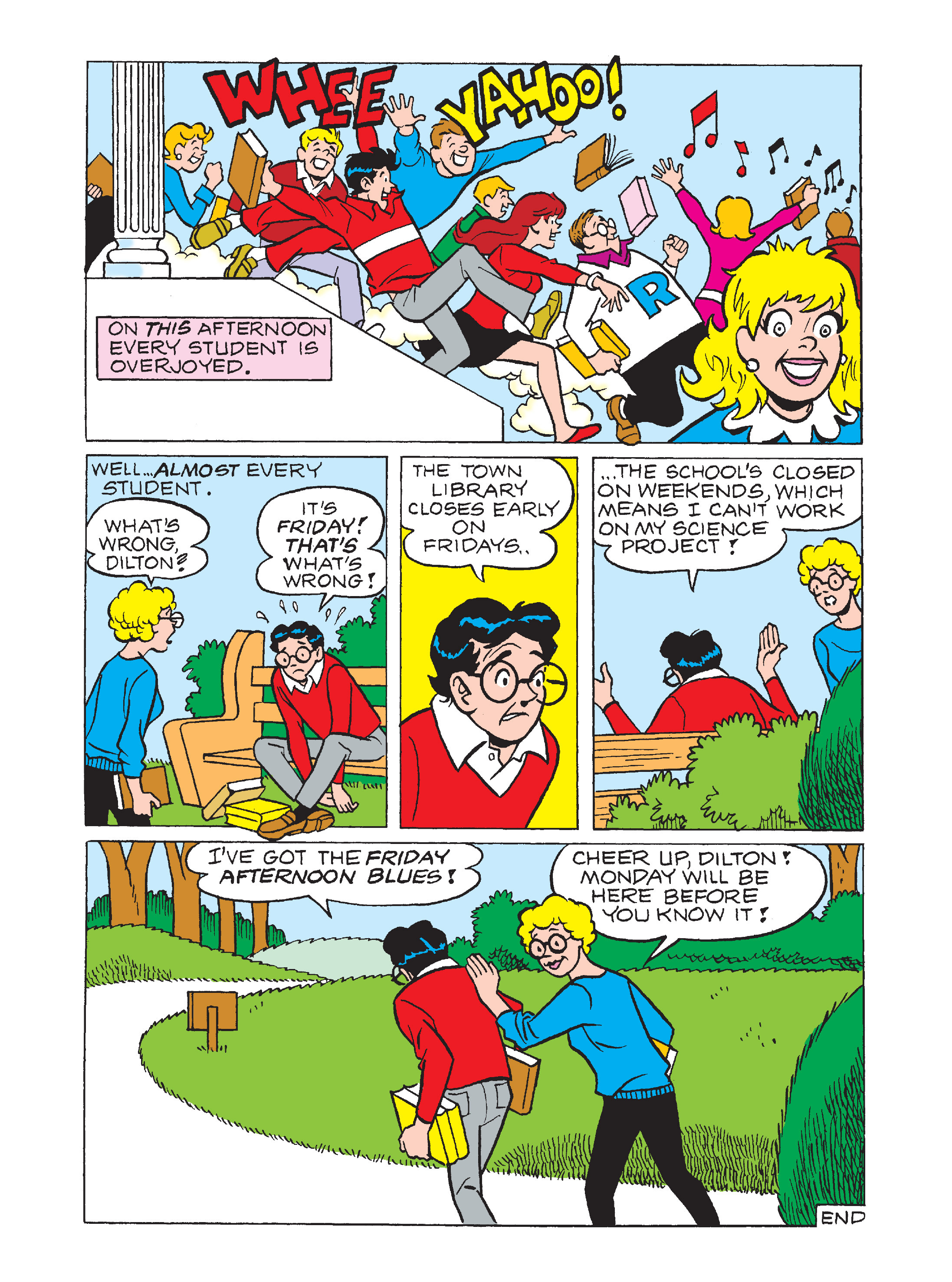 Read online Archie 1000 Page Comics Bonanza comic -  Issue #1 (Part 2) - 77