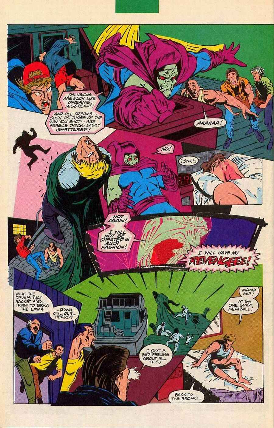 Read online Sleepwalker Holiday Special comic -  Issue # Full - 33