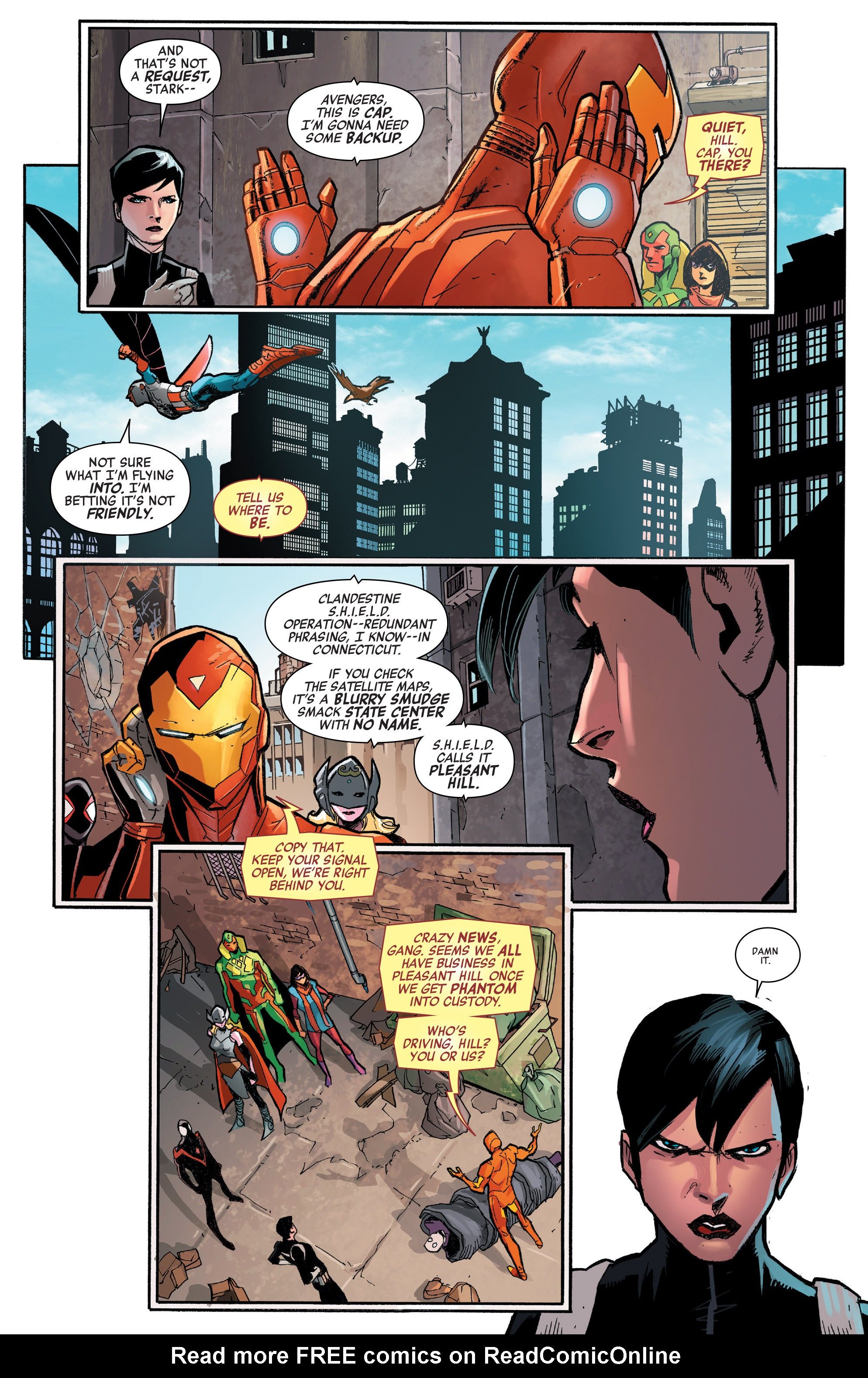 Read online All-New, All-Different Avengers comic -  Issue #7 - 12